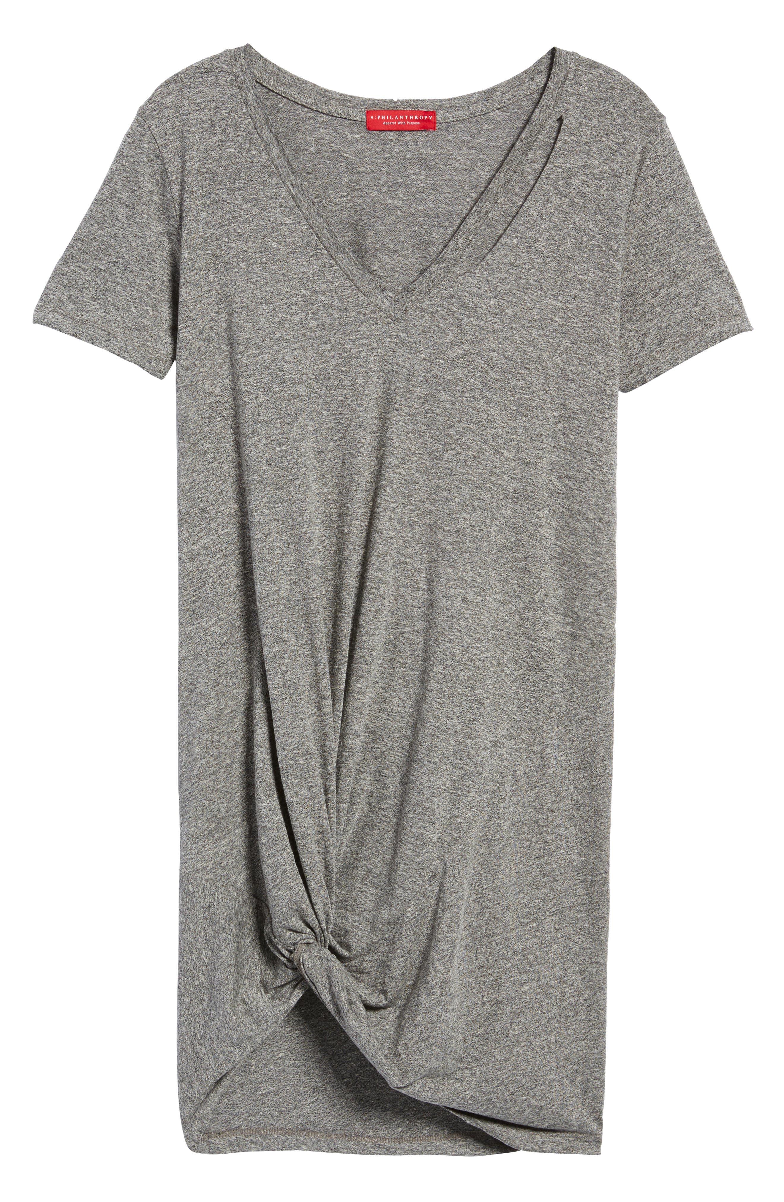 Morrison Jersey Dress,                             Alternate thumbnail 6, color,                             030