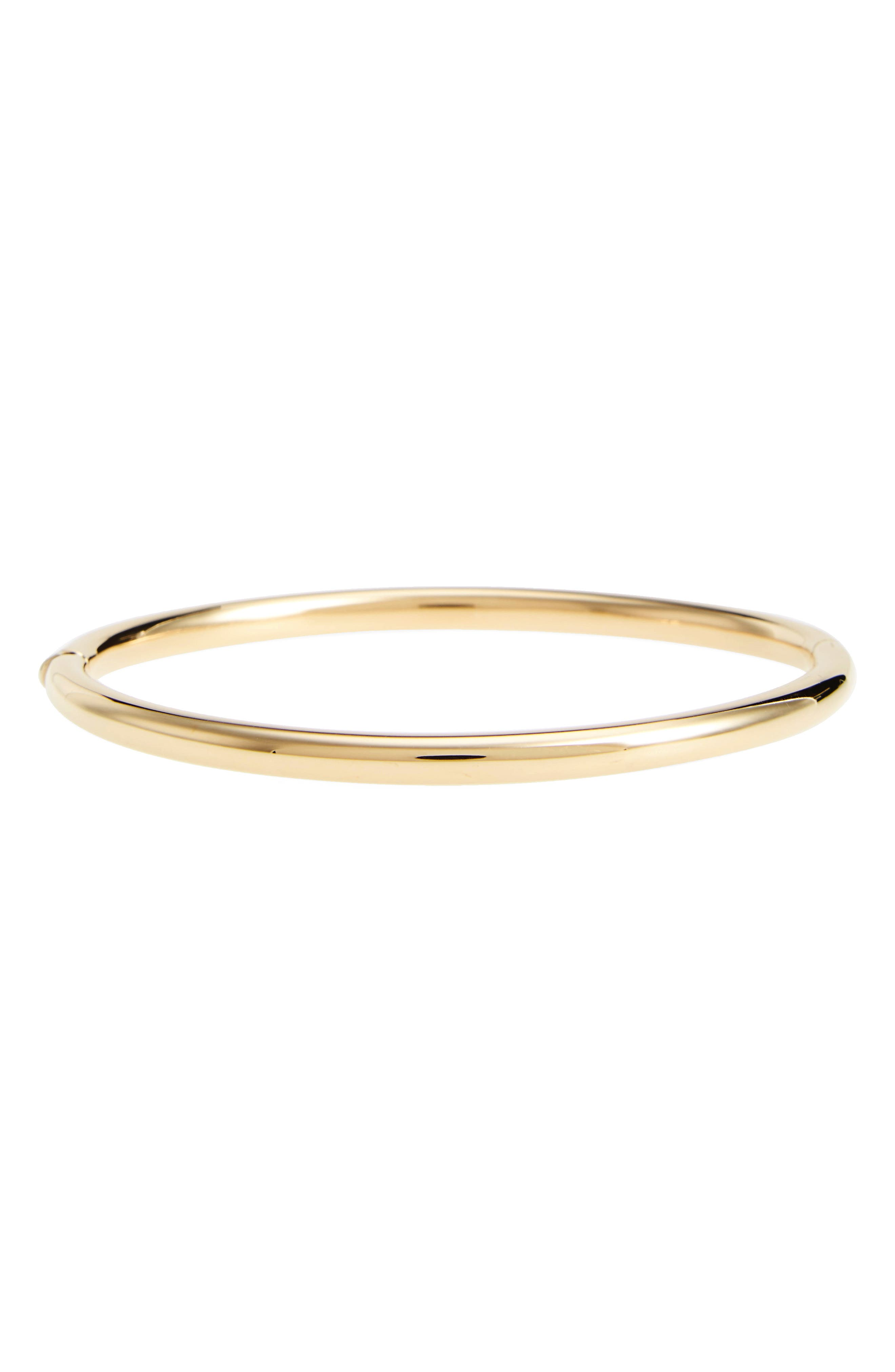 Slim Bangle Bracelet,                         Main,                         color, 710