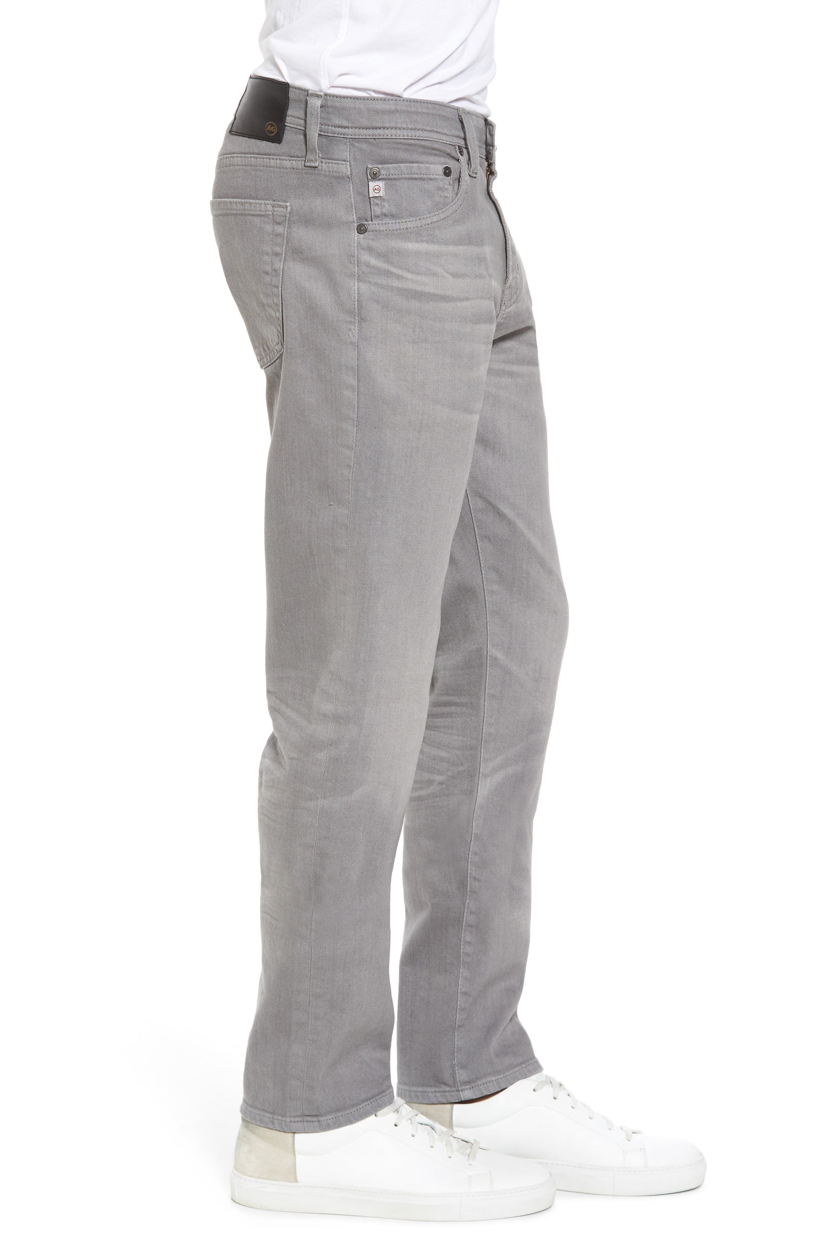 Tellis Modern Slim Twill Pants,                             Alternate thumbnail 6, color,