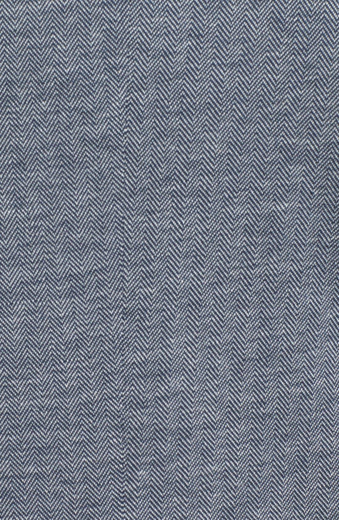 TED BAKER LONDON,                             'Limboe' Modern Trim Fit Herringbone Blazer,                             Alternate thumbnail 2, color,                             410