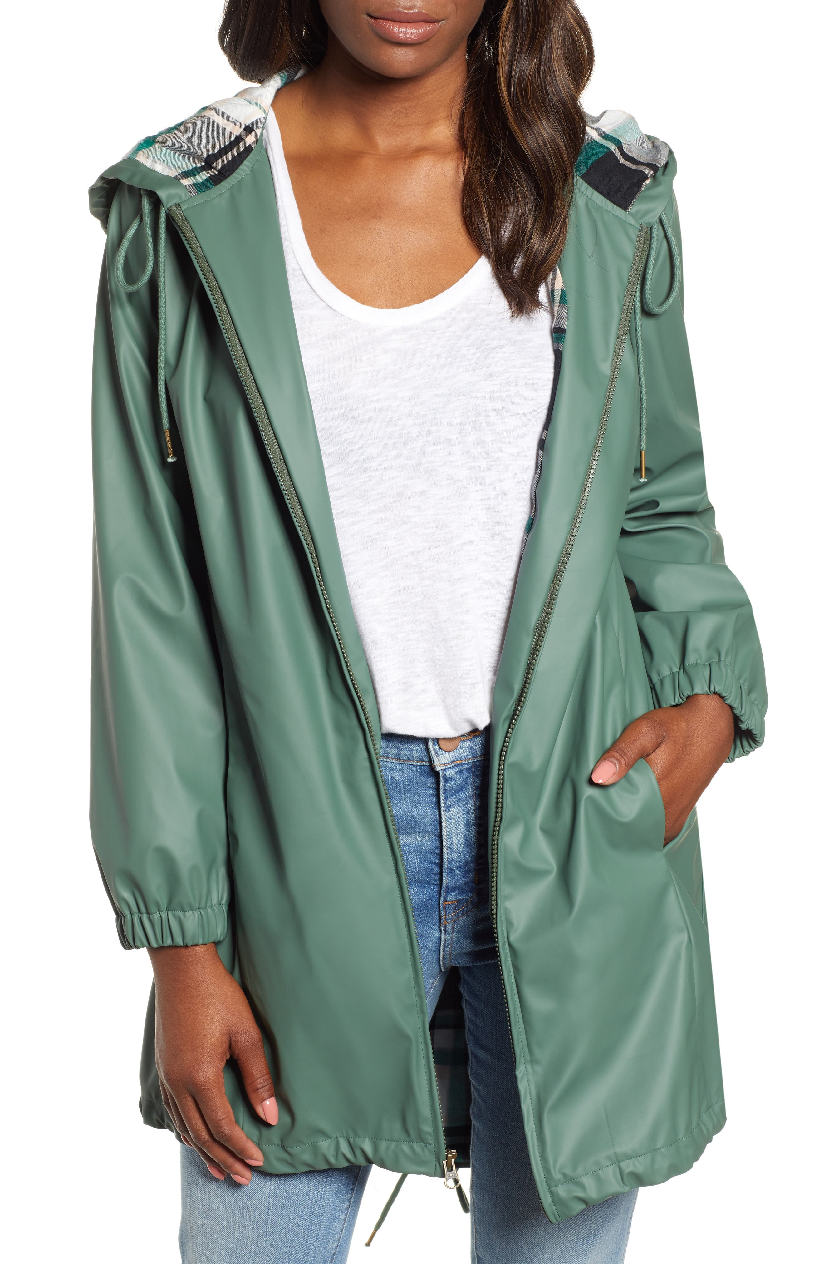 Hooded Rain Jacket,                         Main,                         color, 310