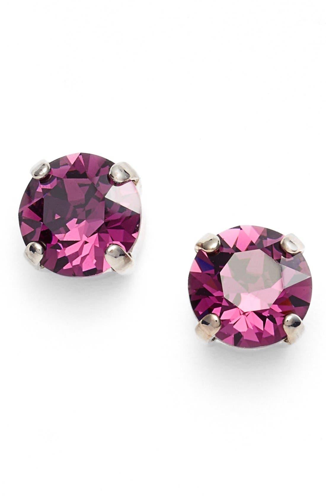 'Grace' Crystal Stud Earrings,                             Main thumbnail 10, color,