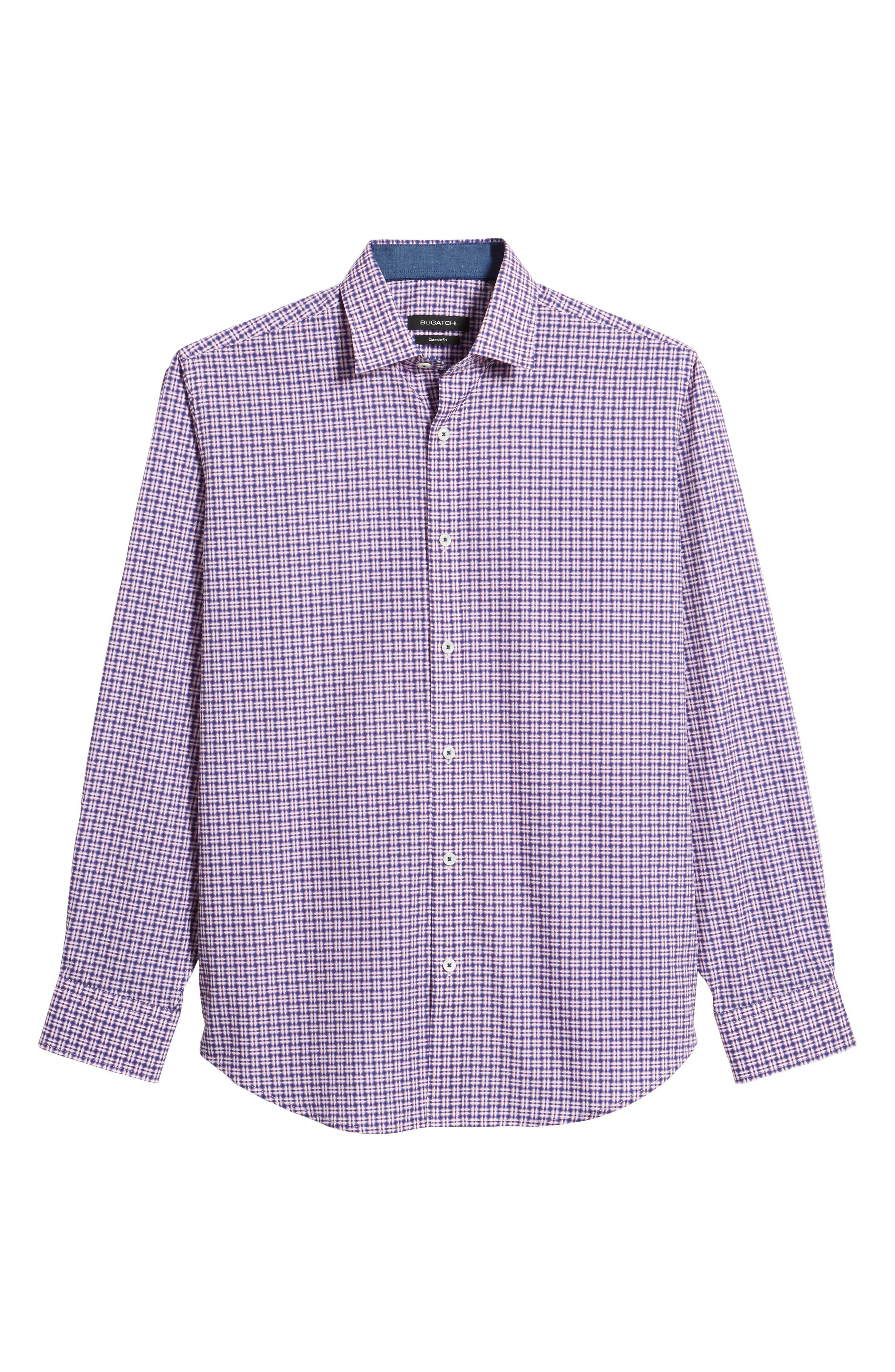Classic Fit Woven Sport Shirt,                             Alternate thumbnail 6, color,                             682