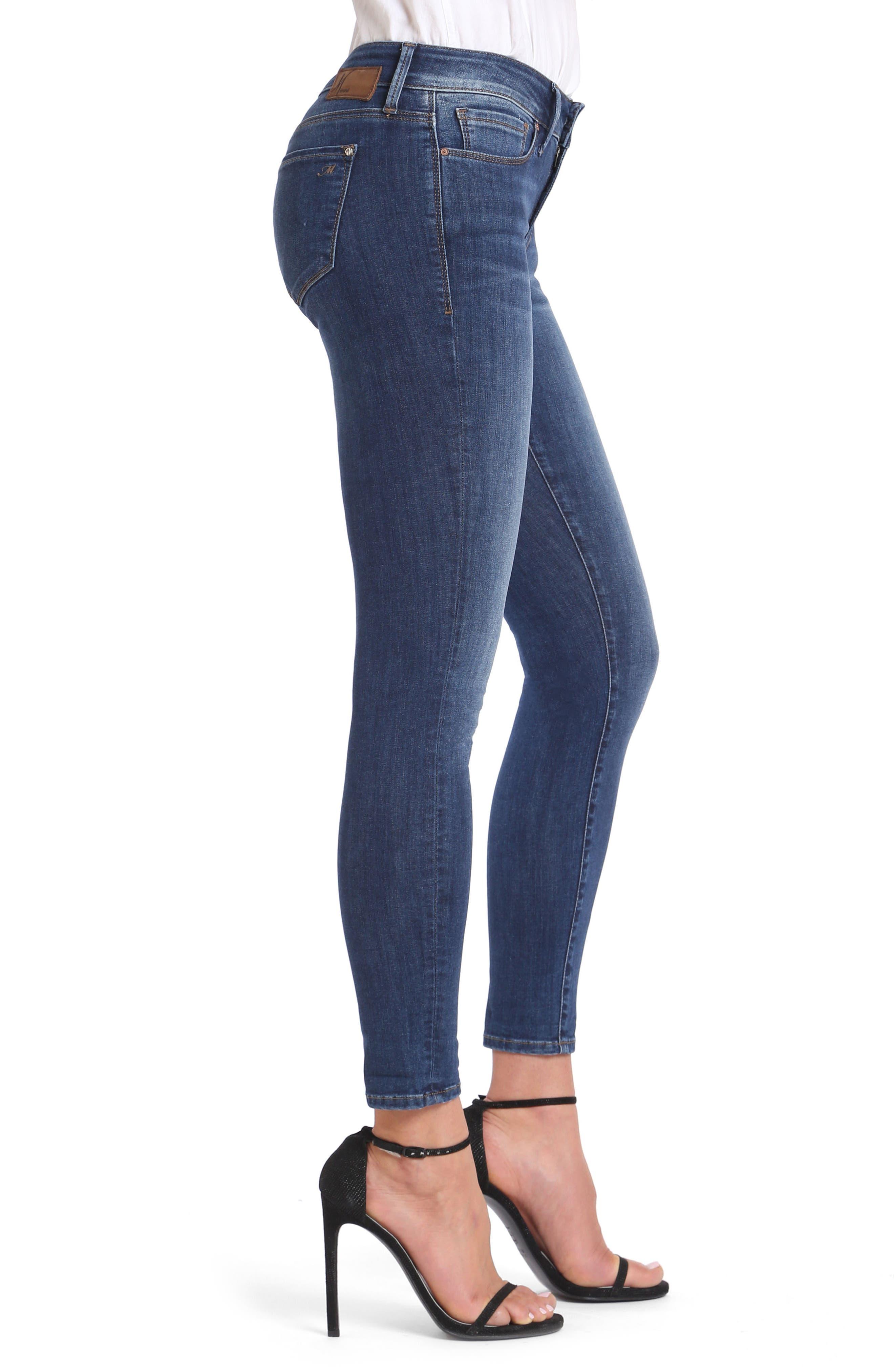 Alexa Ankle Skinny Jeans,                             Alternate thumbnail 3, color,