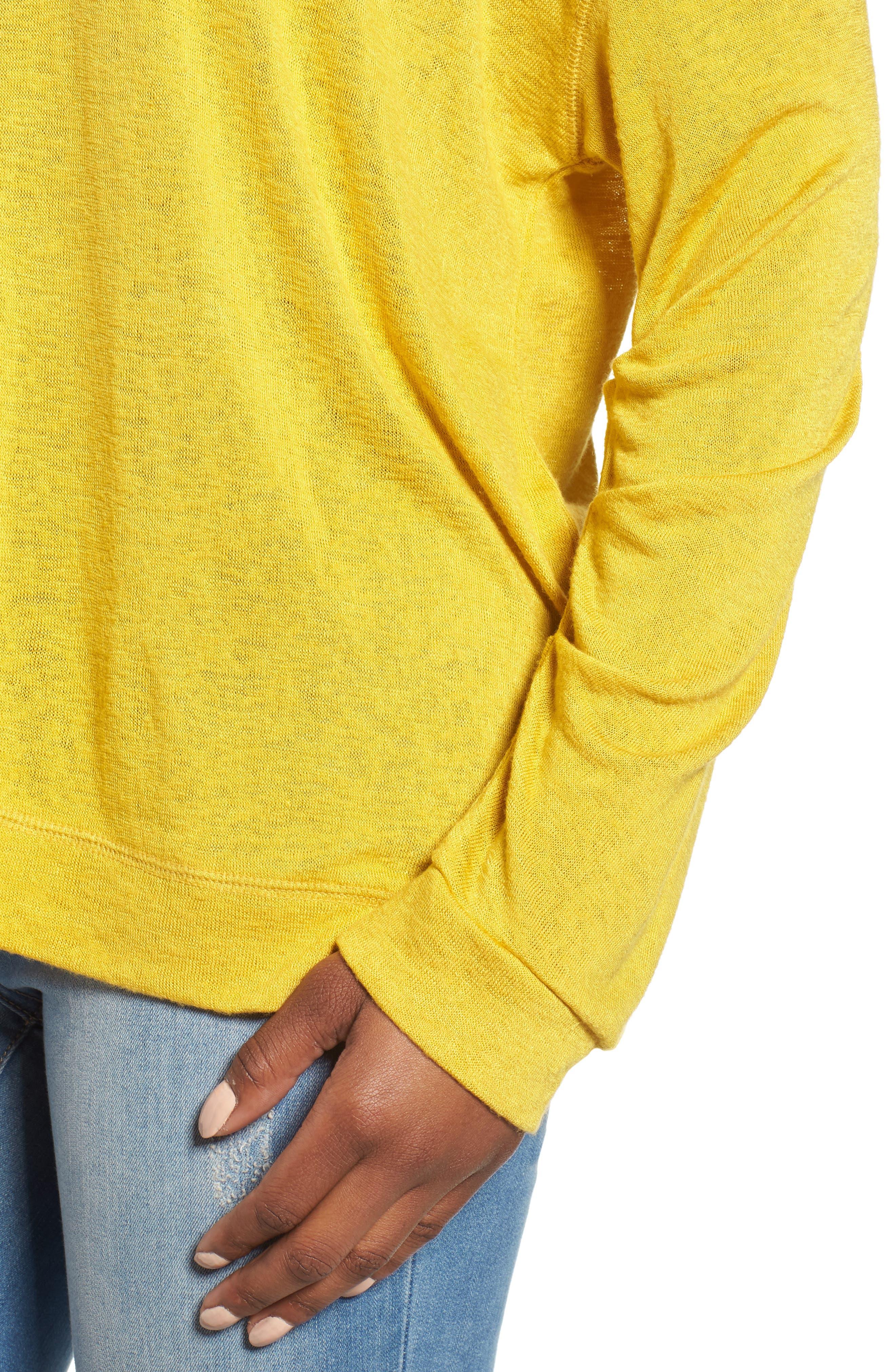 Tuck Sleeve Sweatshirt,                             Alternate thumbnail 25, color,
