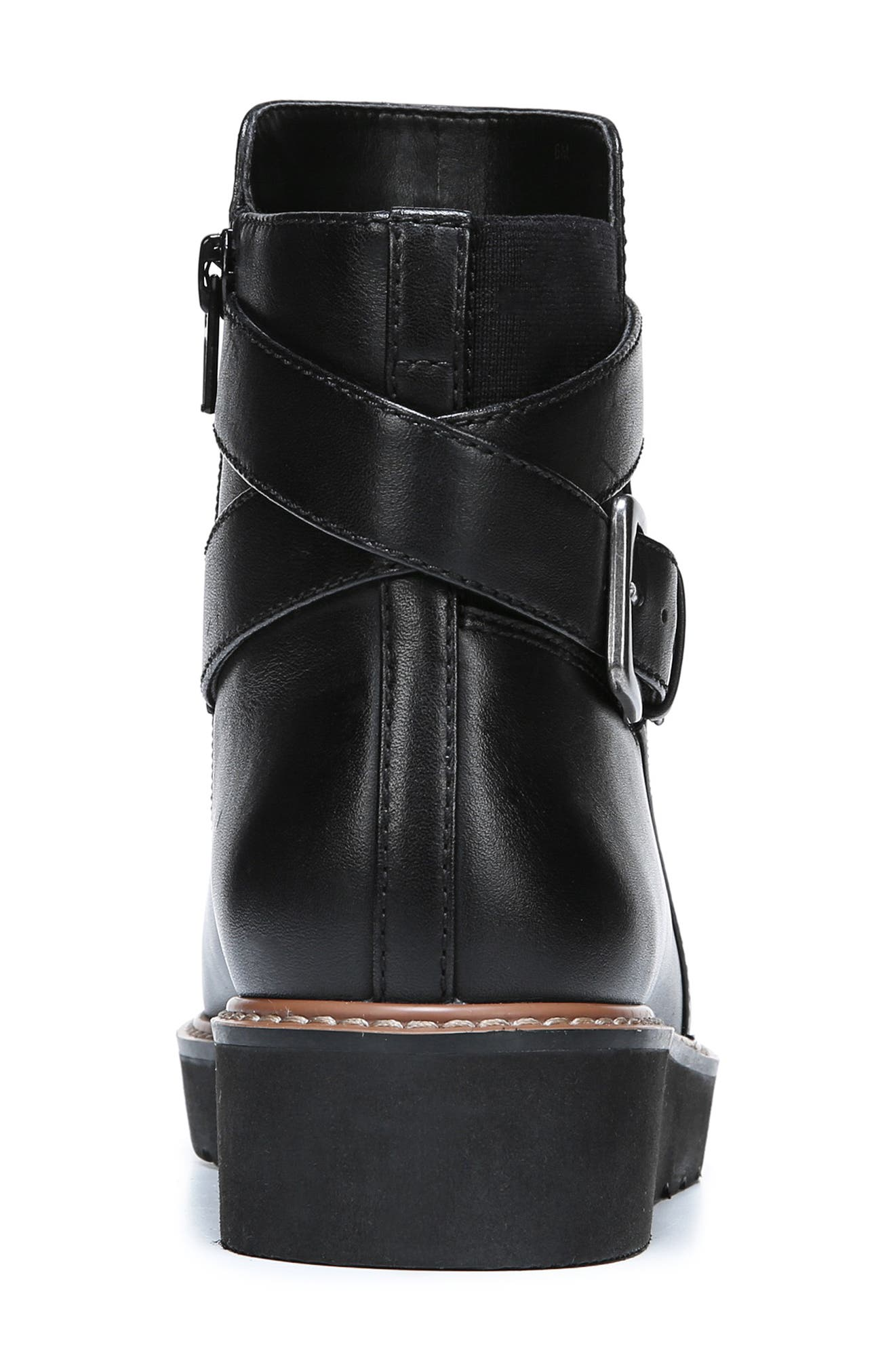 NATURALIZER,                             Aster Bootie,                             Alternate thumbnail 7, color,                             BLACK LEATHER