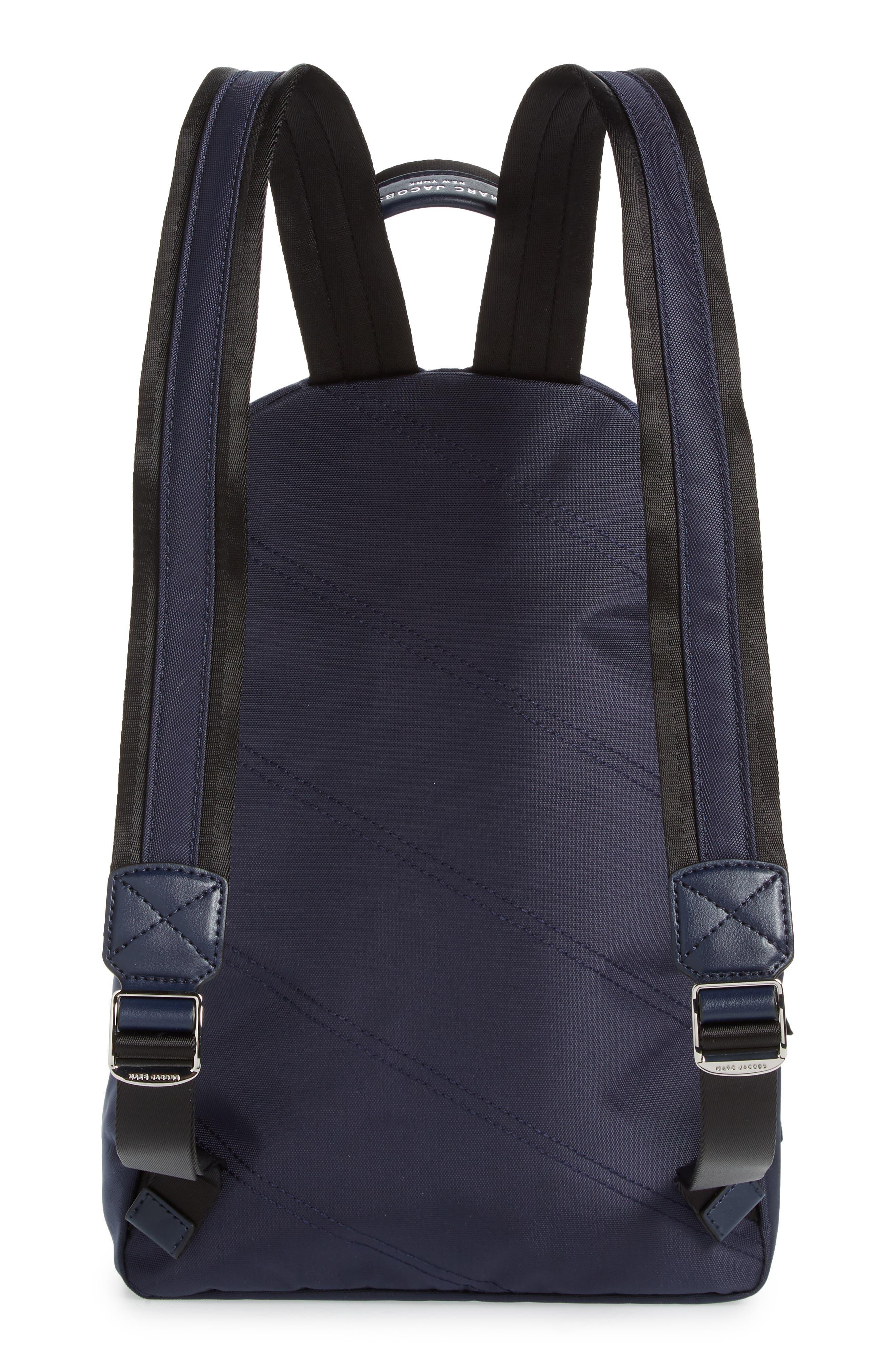Medium Trek Nylon Backpack,                             Alternate thumbnail 3, color,                             MIDNIGHT BLUE