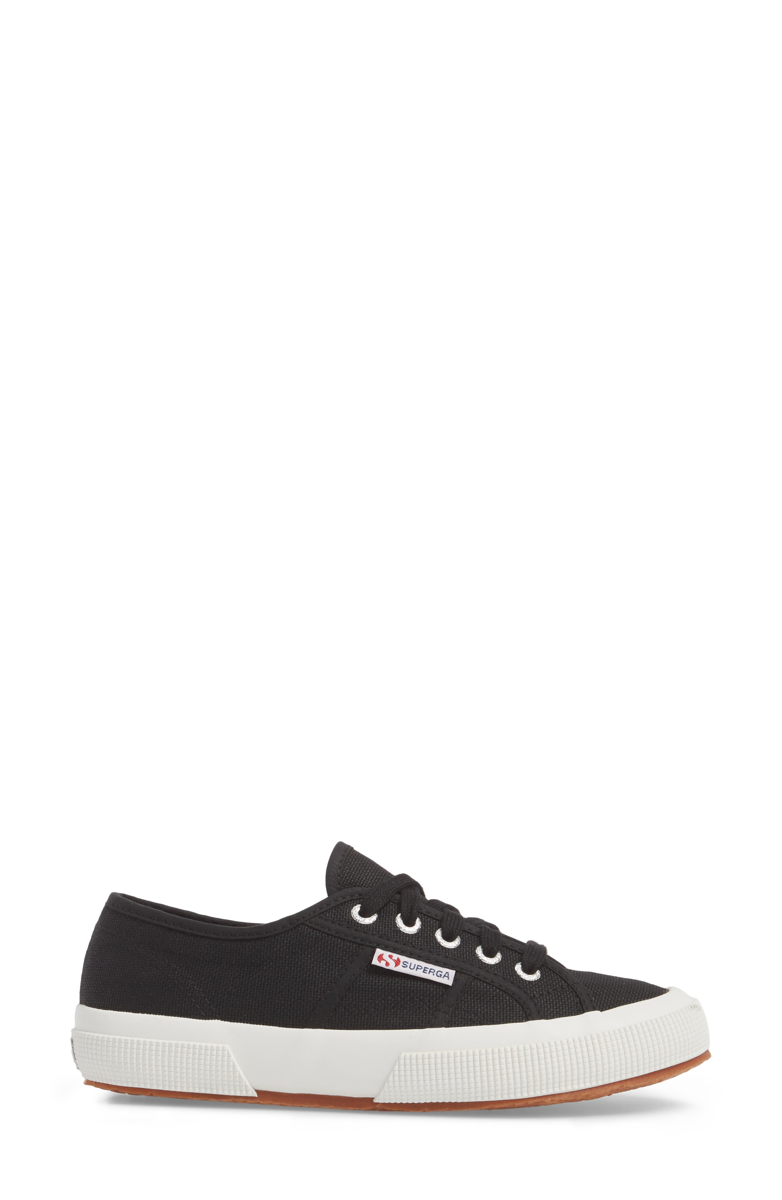 'Cotu' Sneaker,                             Alternate thumbnail 3, color,                             BLACK/ BLACK/ WHITE