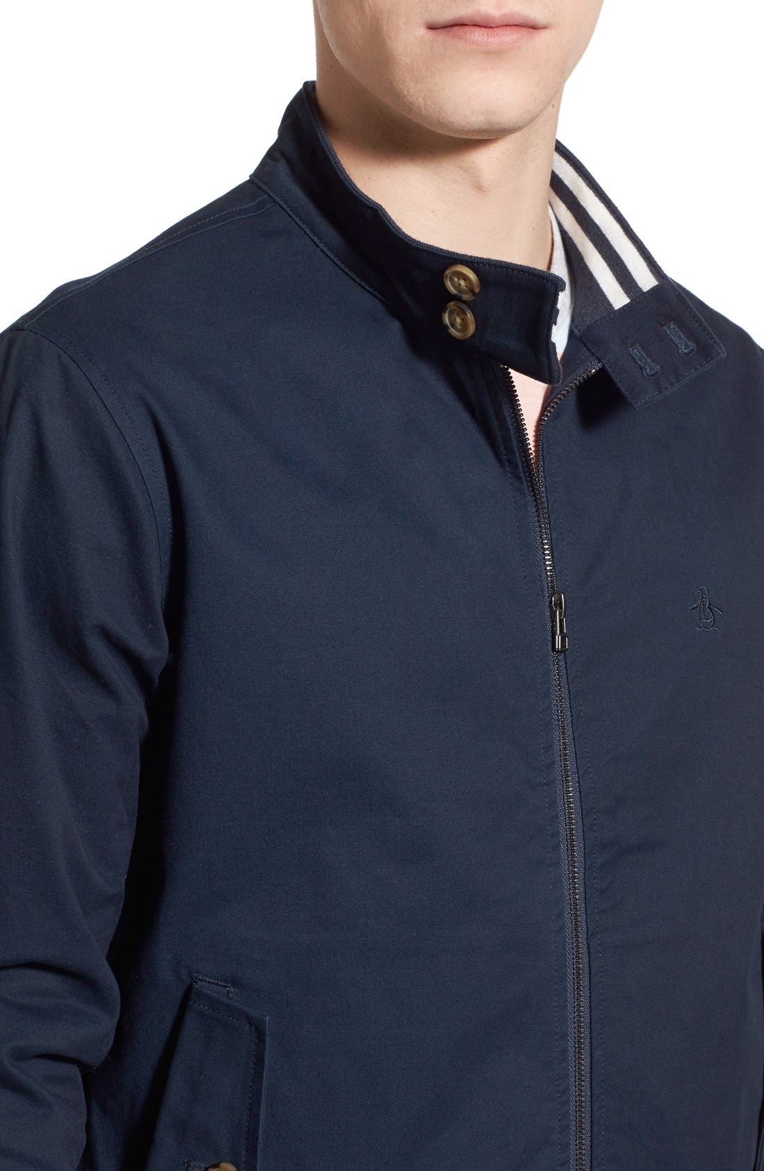 'P55' Harrington Jacket,                             Alternate thumbnail 3, color,                             413