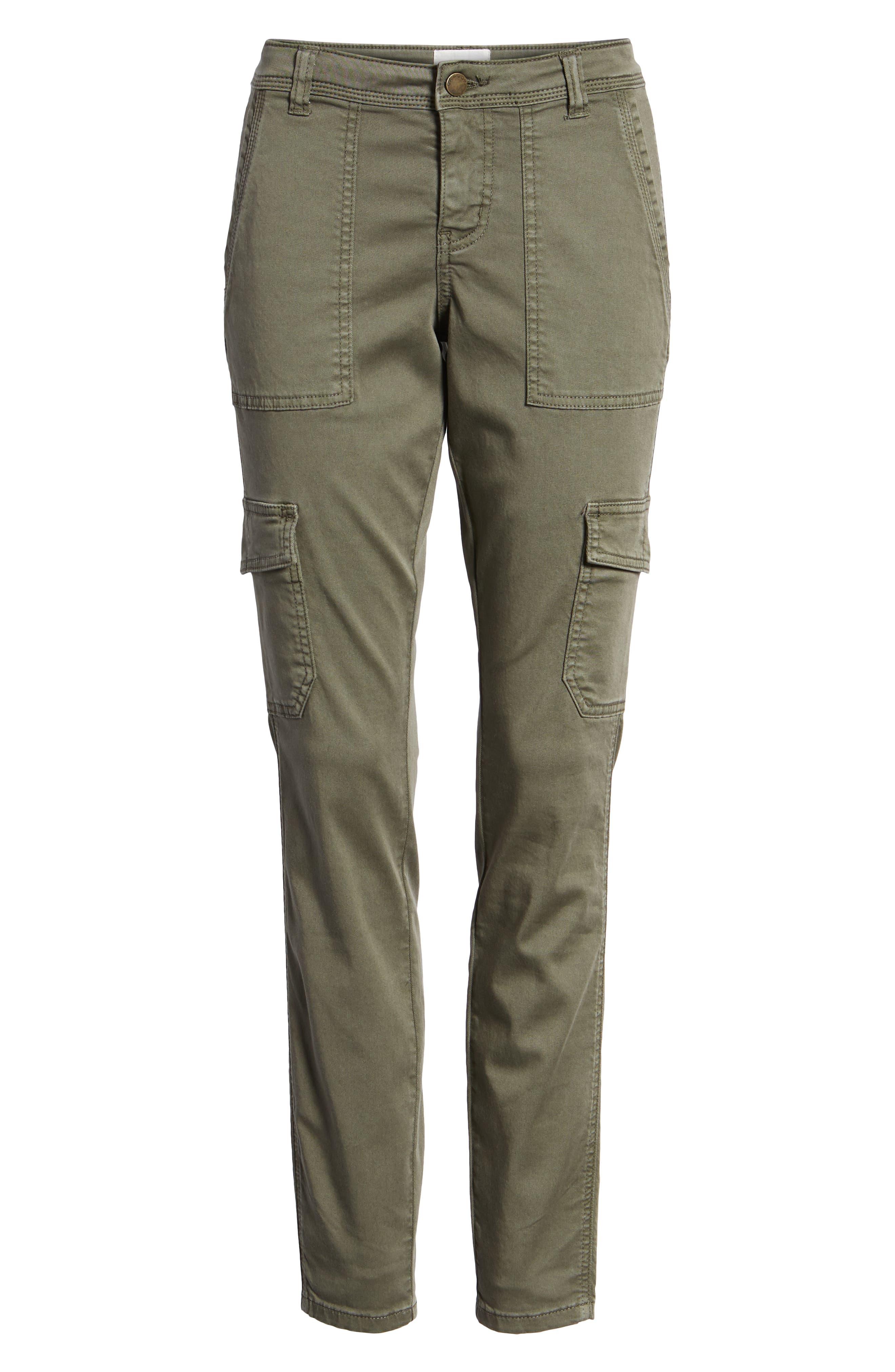 Utility Pants,                             Alternate thumbnail 7, color,                             GREEN BEETLE