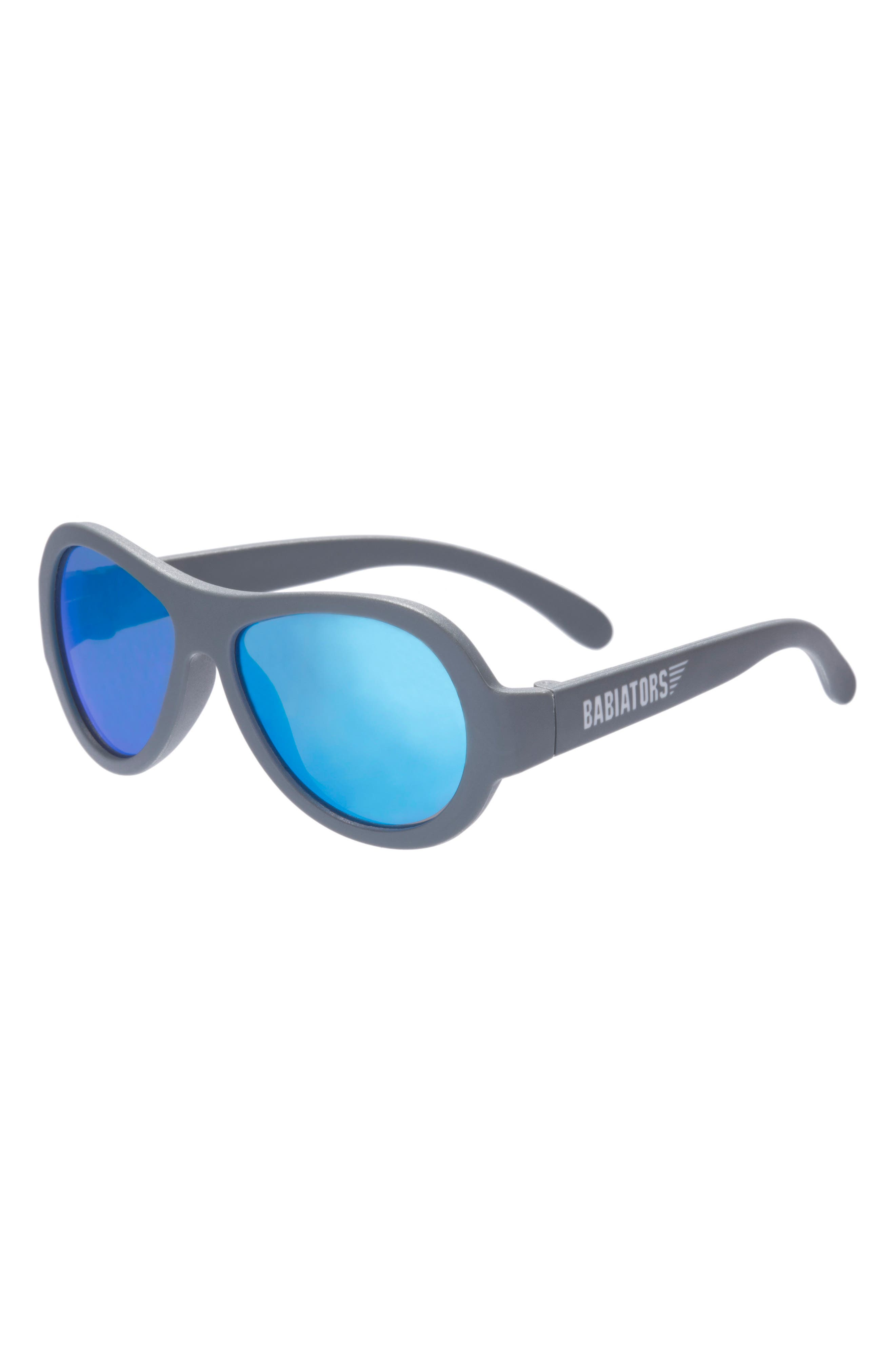 Original Aviator Sunglasses,                             Main thumbnail 1, color,                             BLUE STEEL