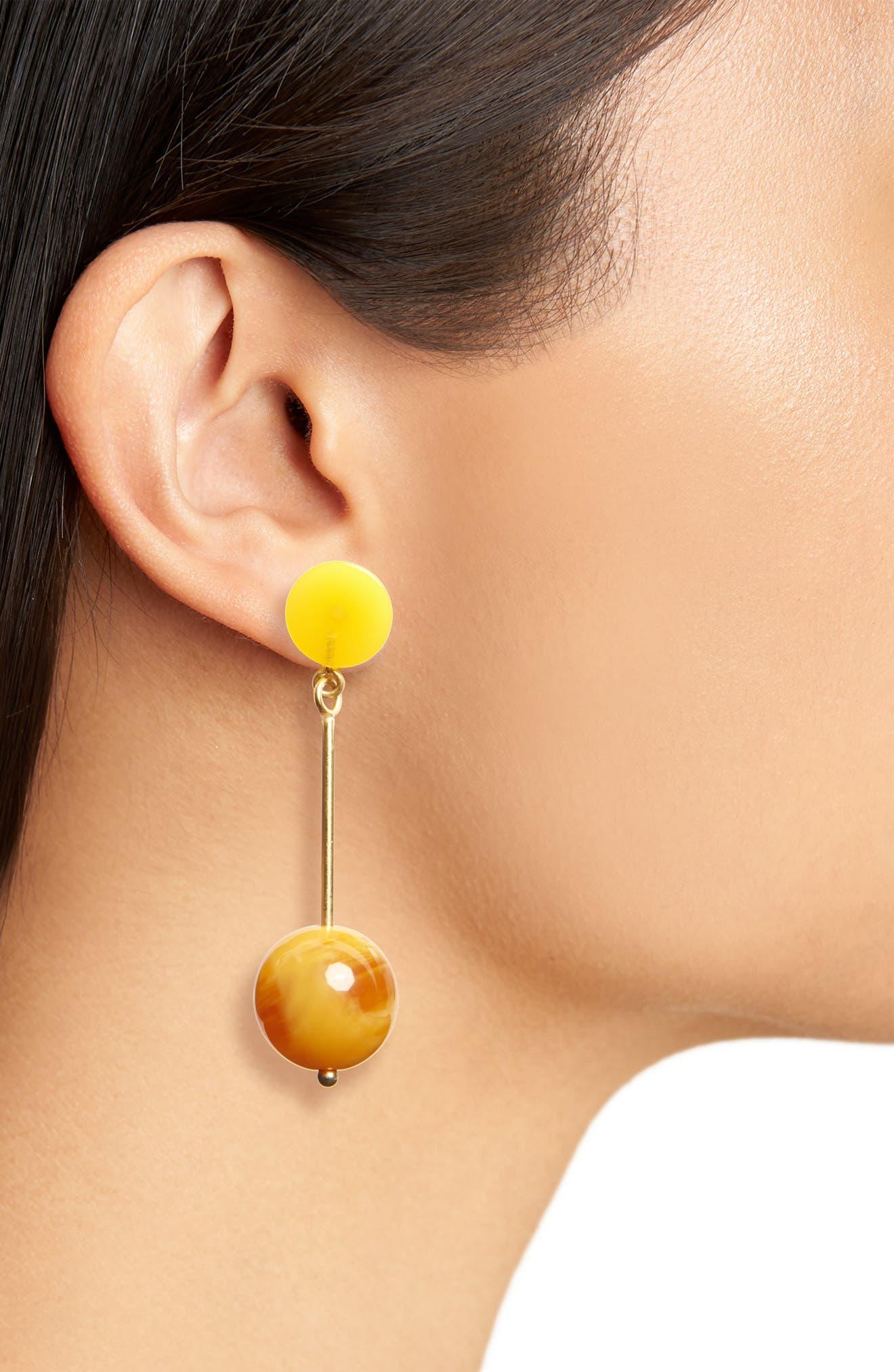 Curveball Drop Earrings,                             Alternate thumbnail 2, color,                             710