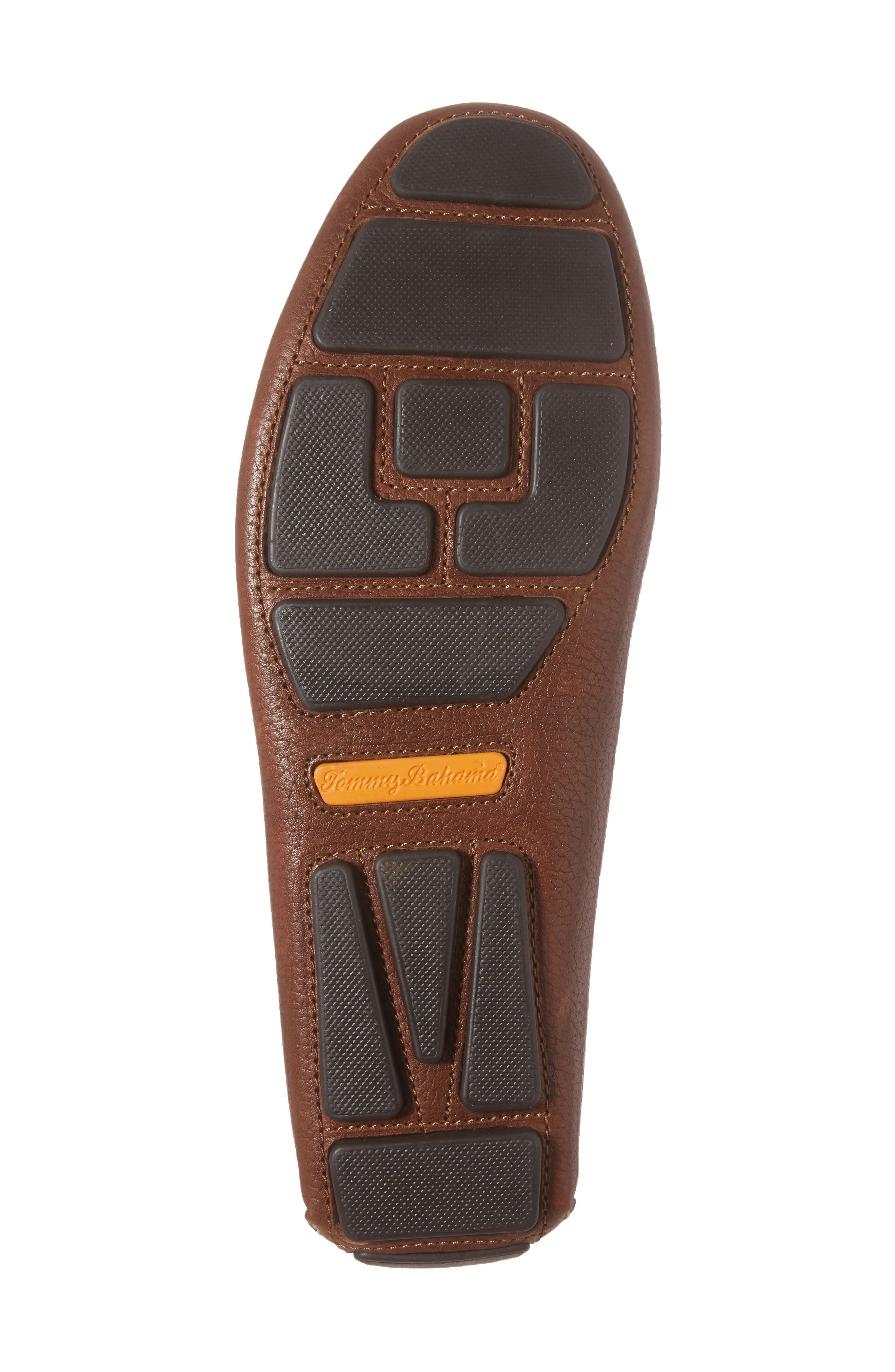 Pagota Driving Loafer,                             Alternate thumbnail 6, color,                             DARK BROWN LEATHER