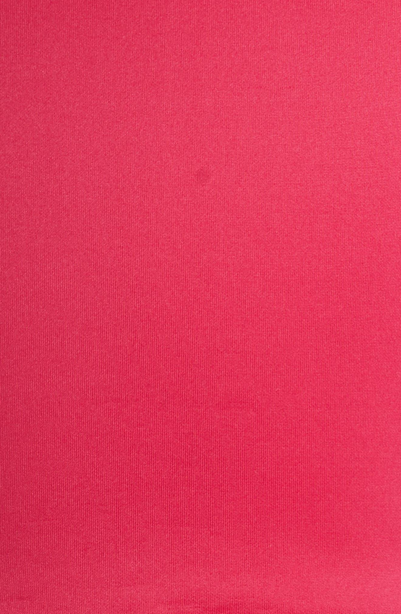 Scuba Fit & Flare Dress,                             Alternate thumbnail 3, color,                             652