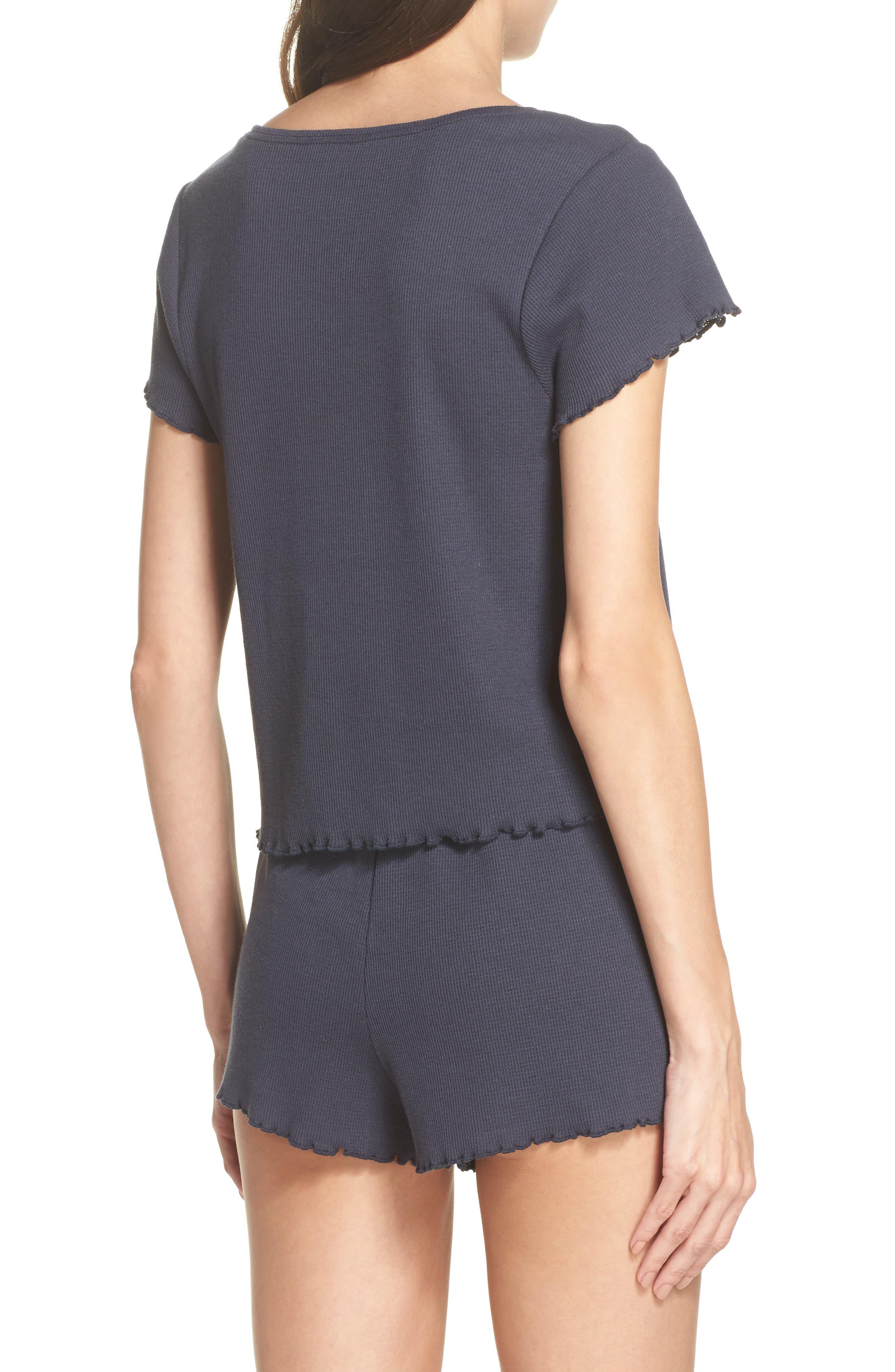 Thermal Short Pajamas,                             Alternate thumbnail 2, color,                             410