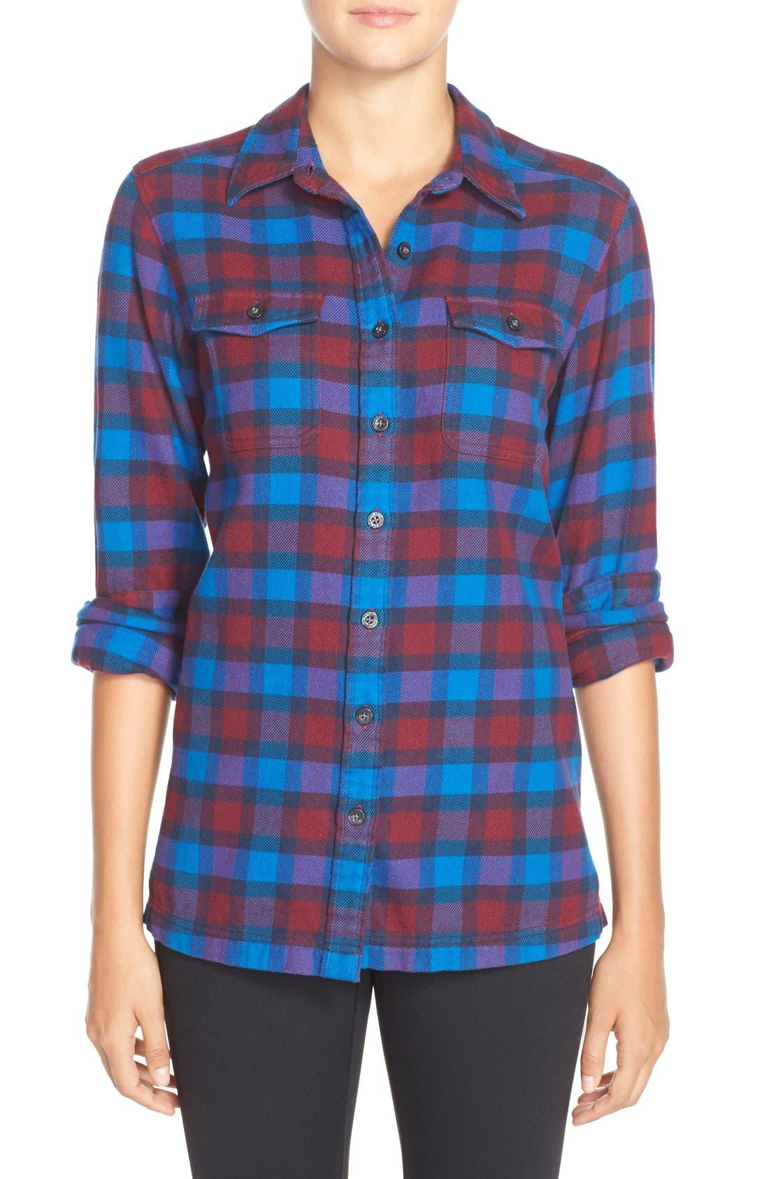 'Fjord' Flannel Shirt,                             Main thumbnail 17, color,