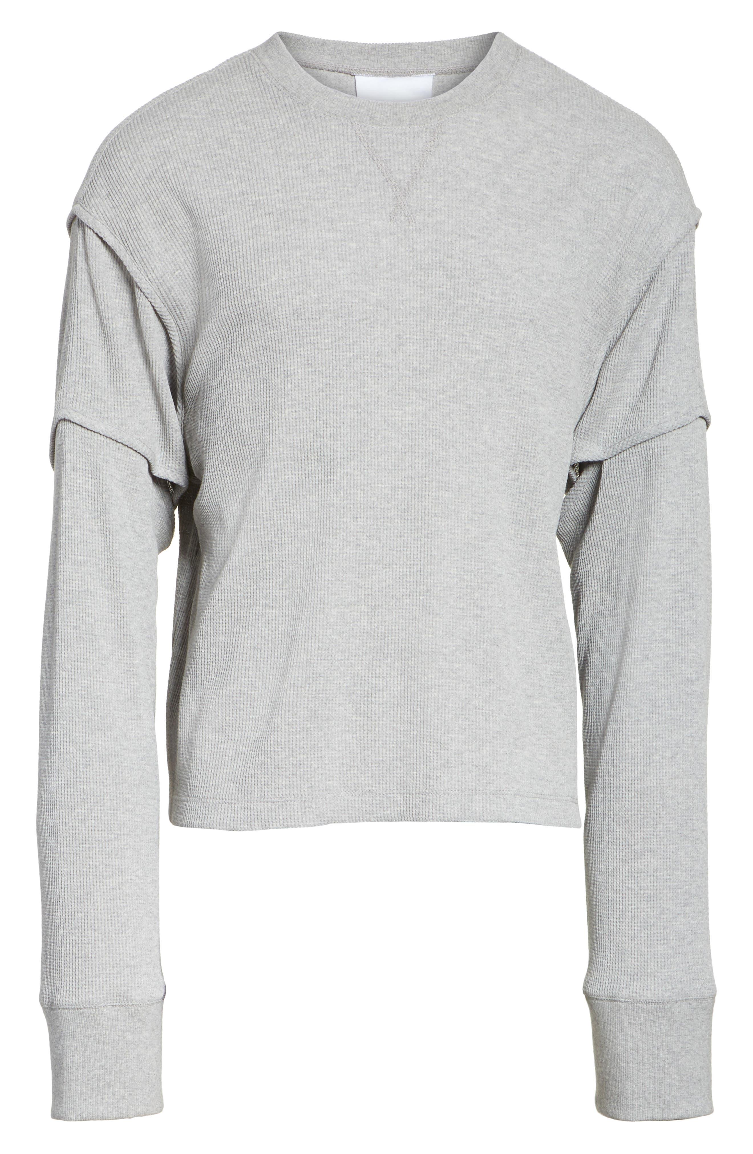 Military Panel Sleeve Thermal Shirt,                             Alternate thumbnail 6, color,                             029