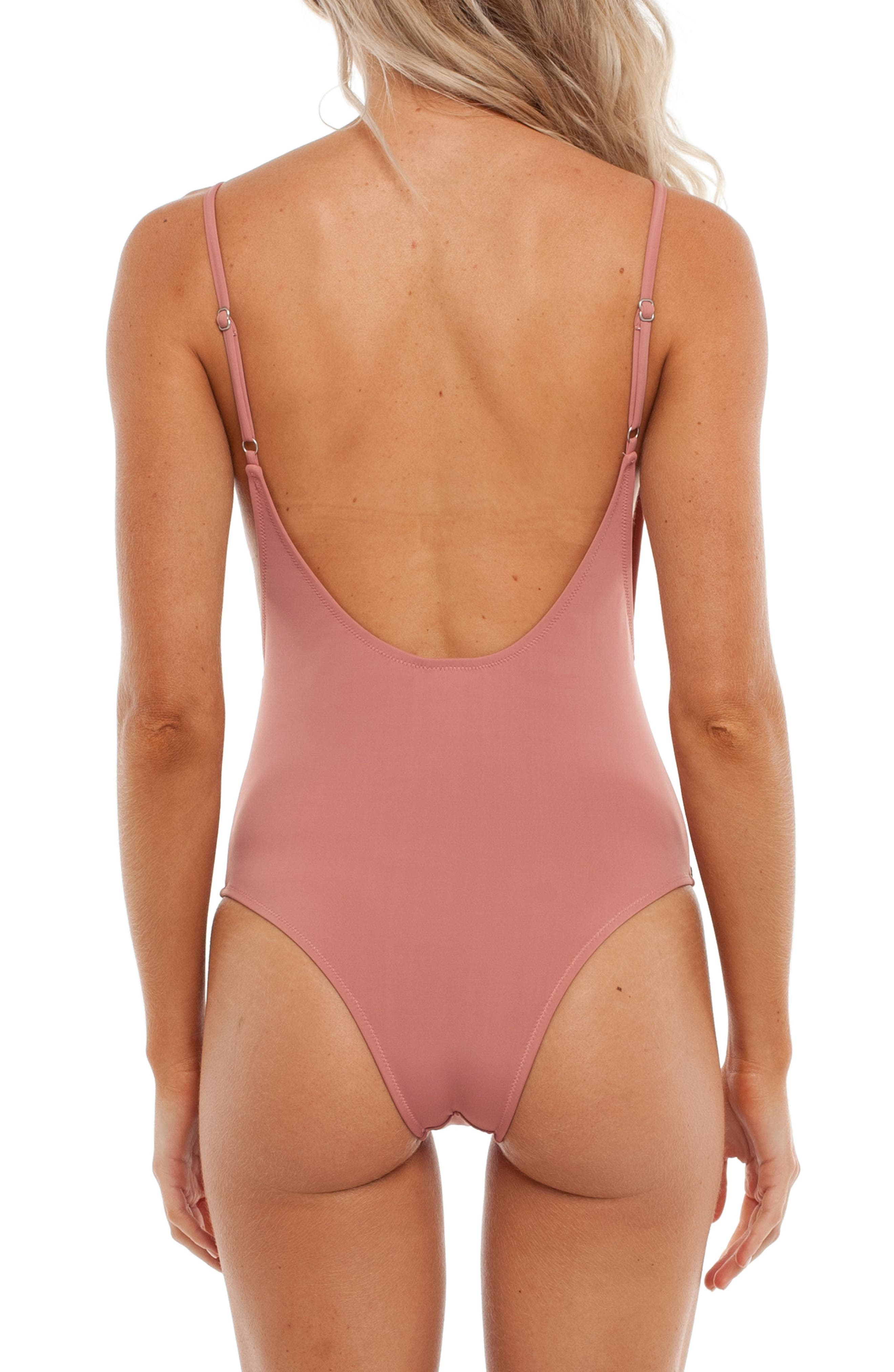 My Scoop One-Piece Swimsuit,                             Alternate thumbnail 2, color,                             660