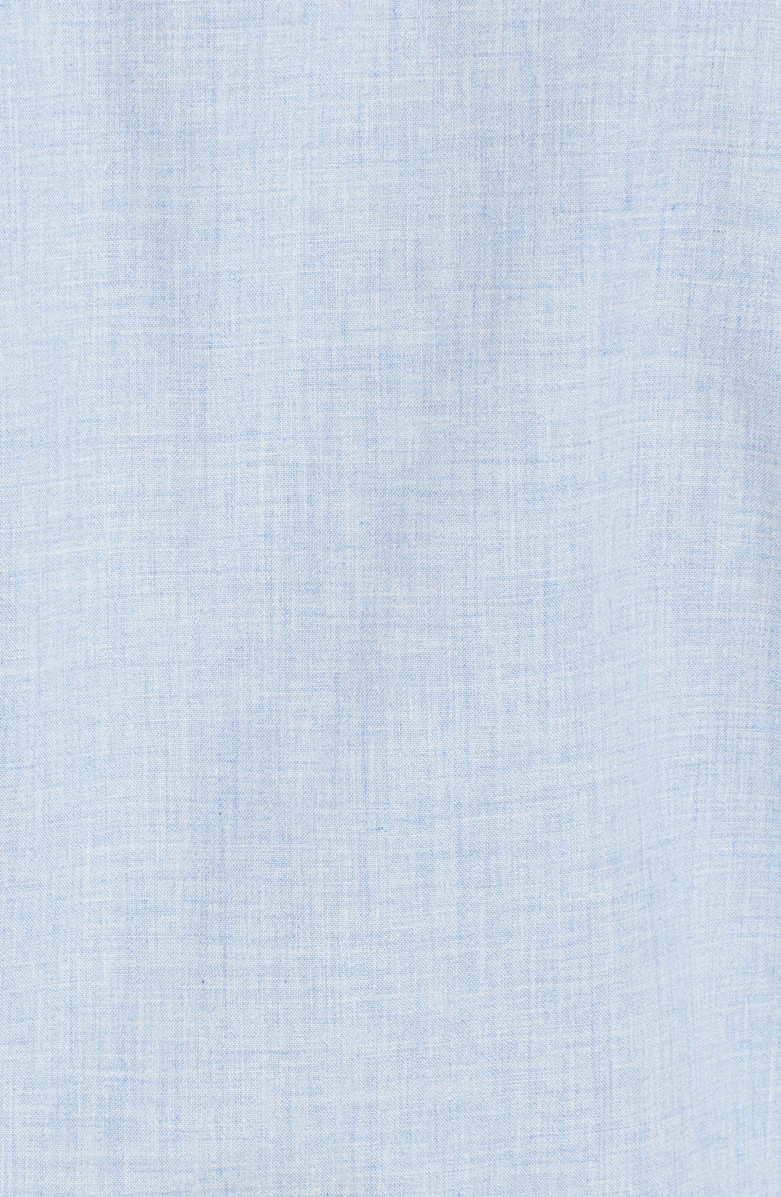 Heather Classic Fit No-Iron Sport Shirt,                             Alternate thumbnail 14, color,