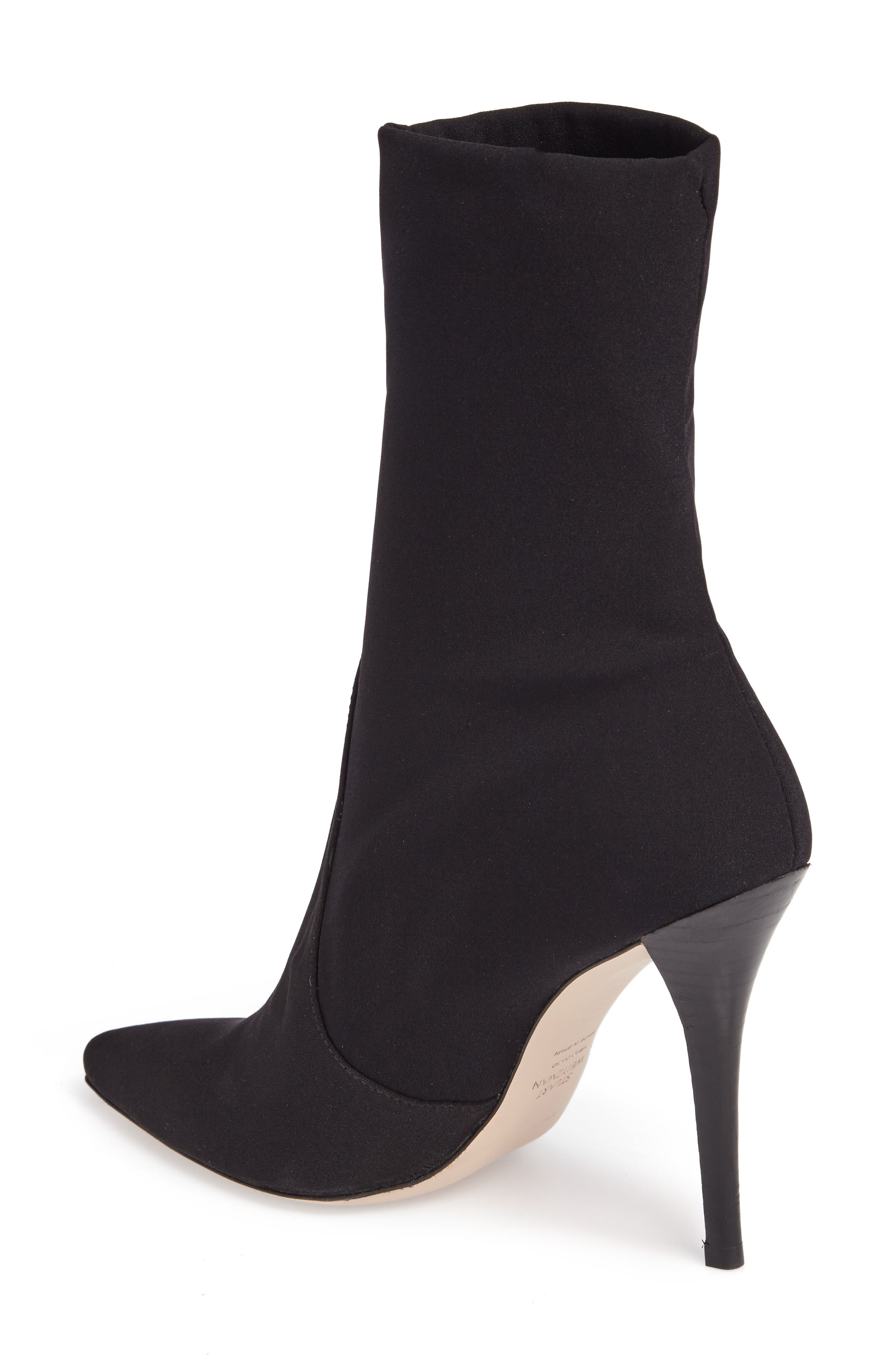 HiFi Pointy Toe Bootie,                             Alternate thumbnail 2, color,                             001