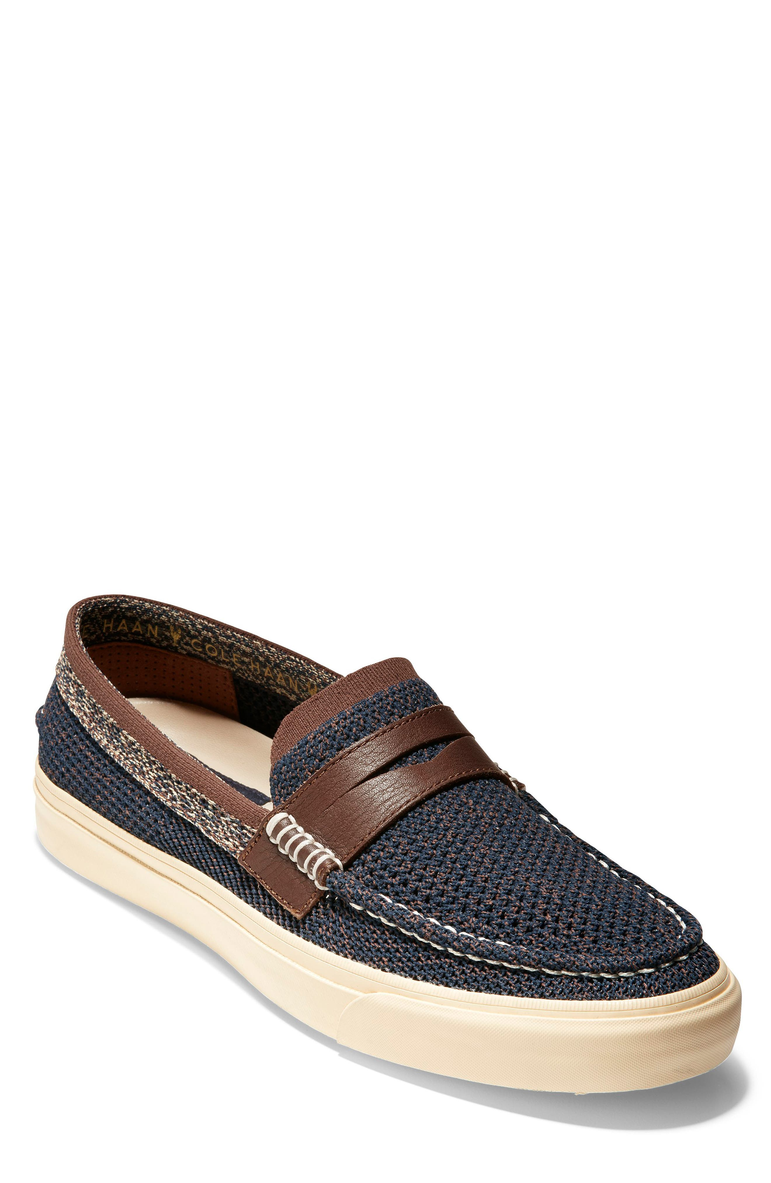 Cole Haan Pinch Weekend Lx Penny Loafer- Blue