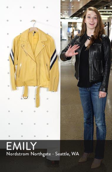Strobe Leather Jacket, sales video thumbnail