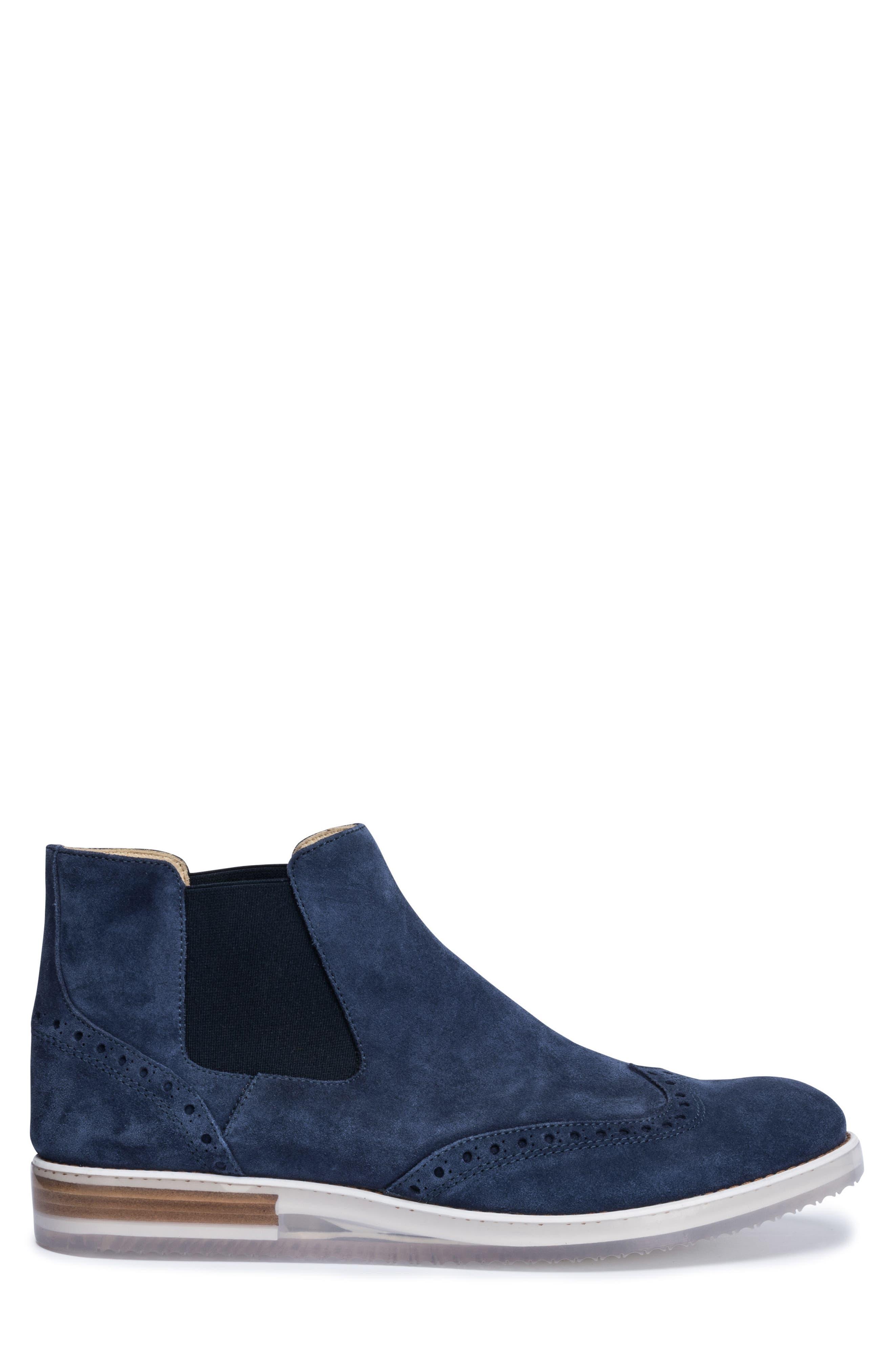 Brescia Mid Chelsea Wingtip Sneaker Boot,                             Alternate thumbnail 3, color,                             429
