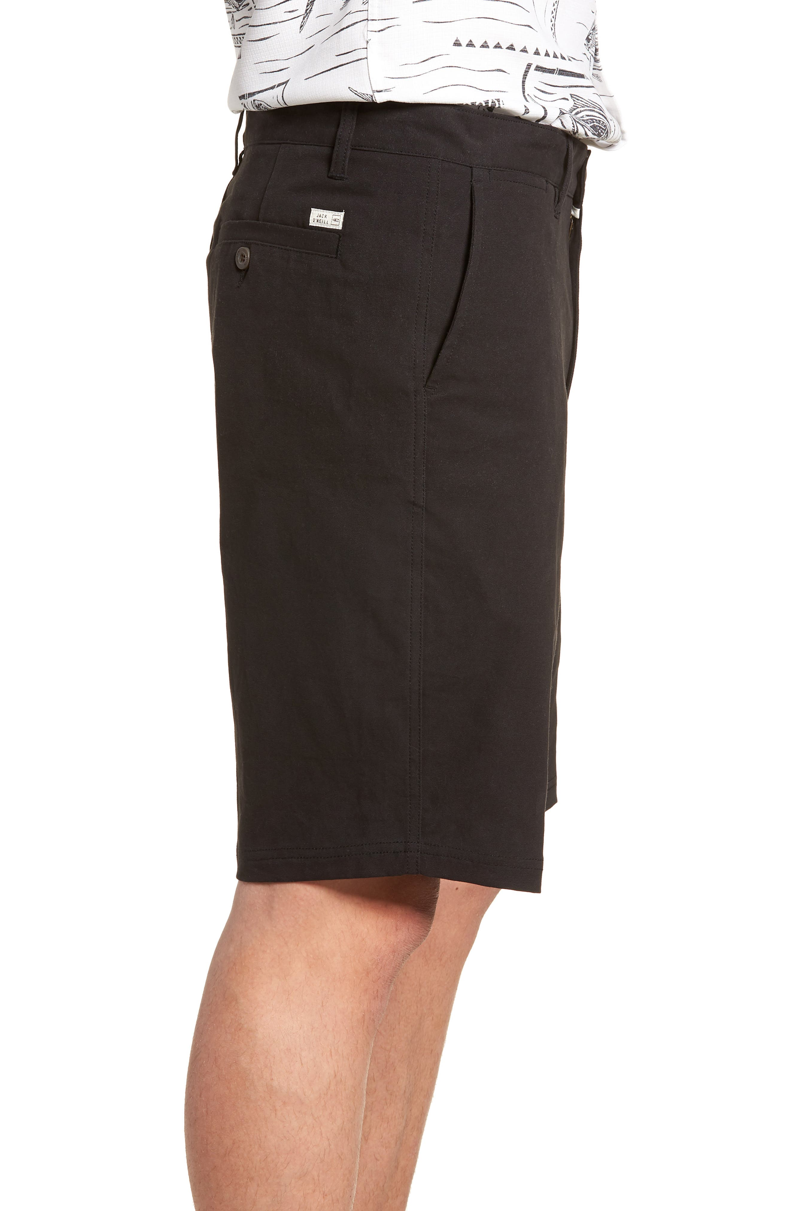 Port Shorts,                             Alternate thumbnail 3, color,                             BLACK