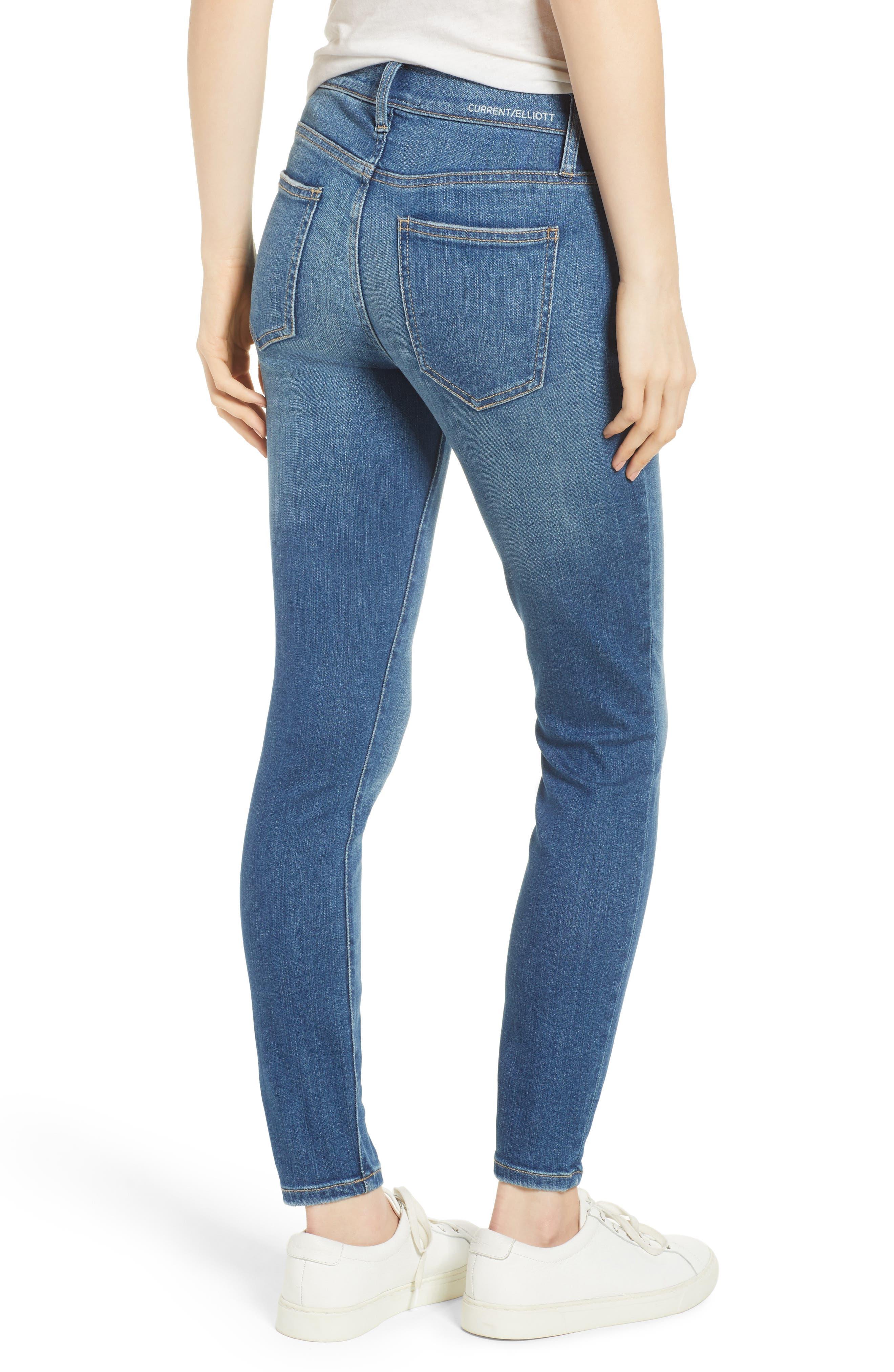 The Stiletto Skinny Jeans,                             Alternate thumbnail 2, color,                             470