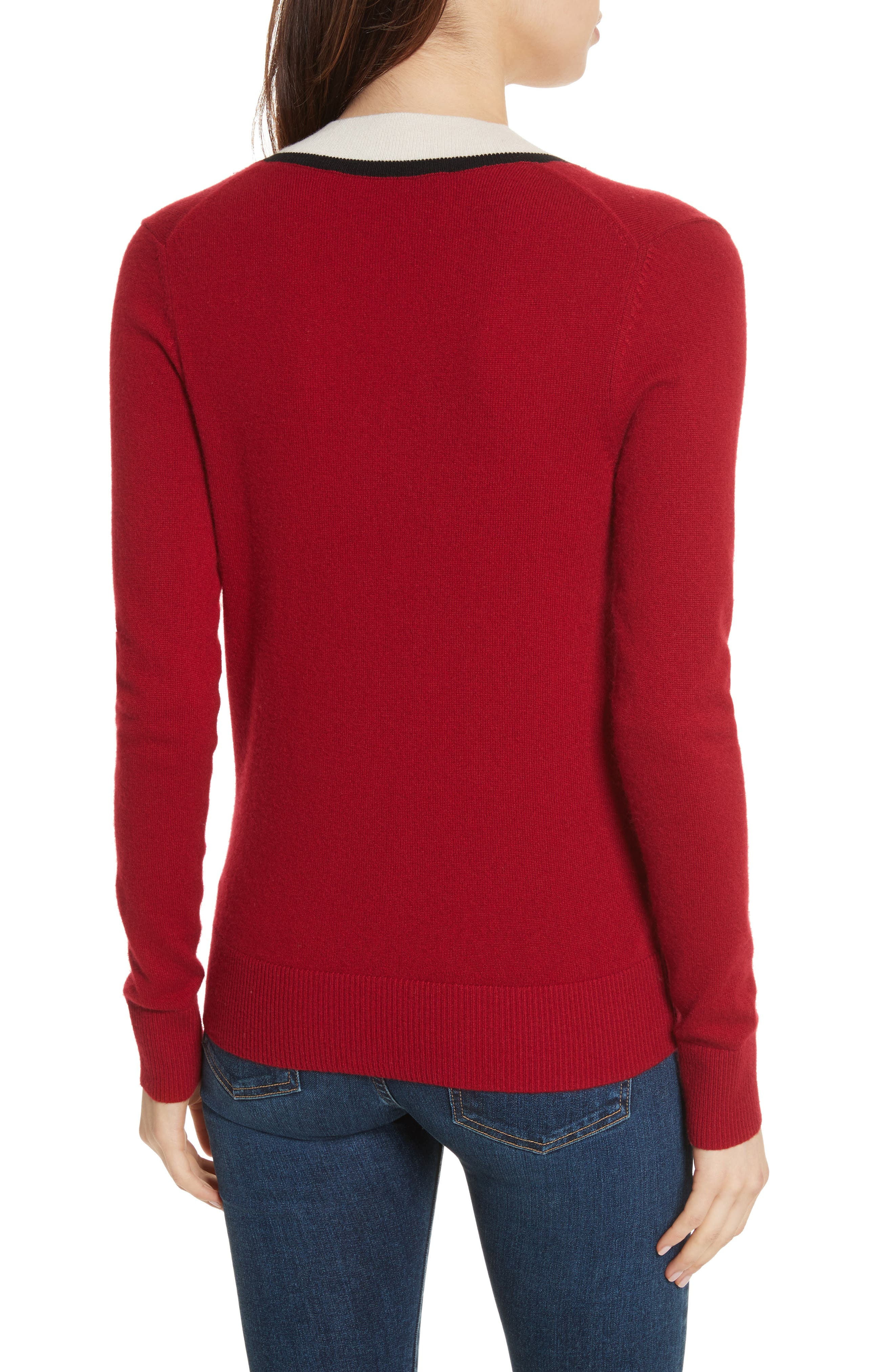 Barrett Cashmere Sweater,                             Alternate thumbnail 3, color,