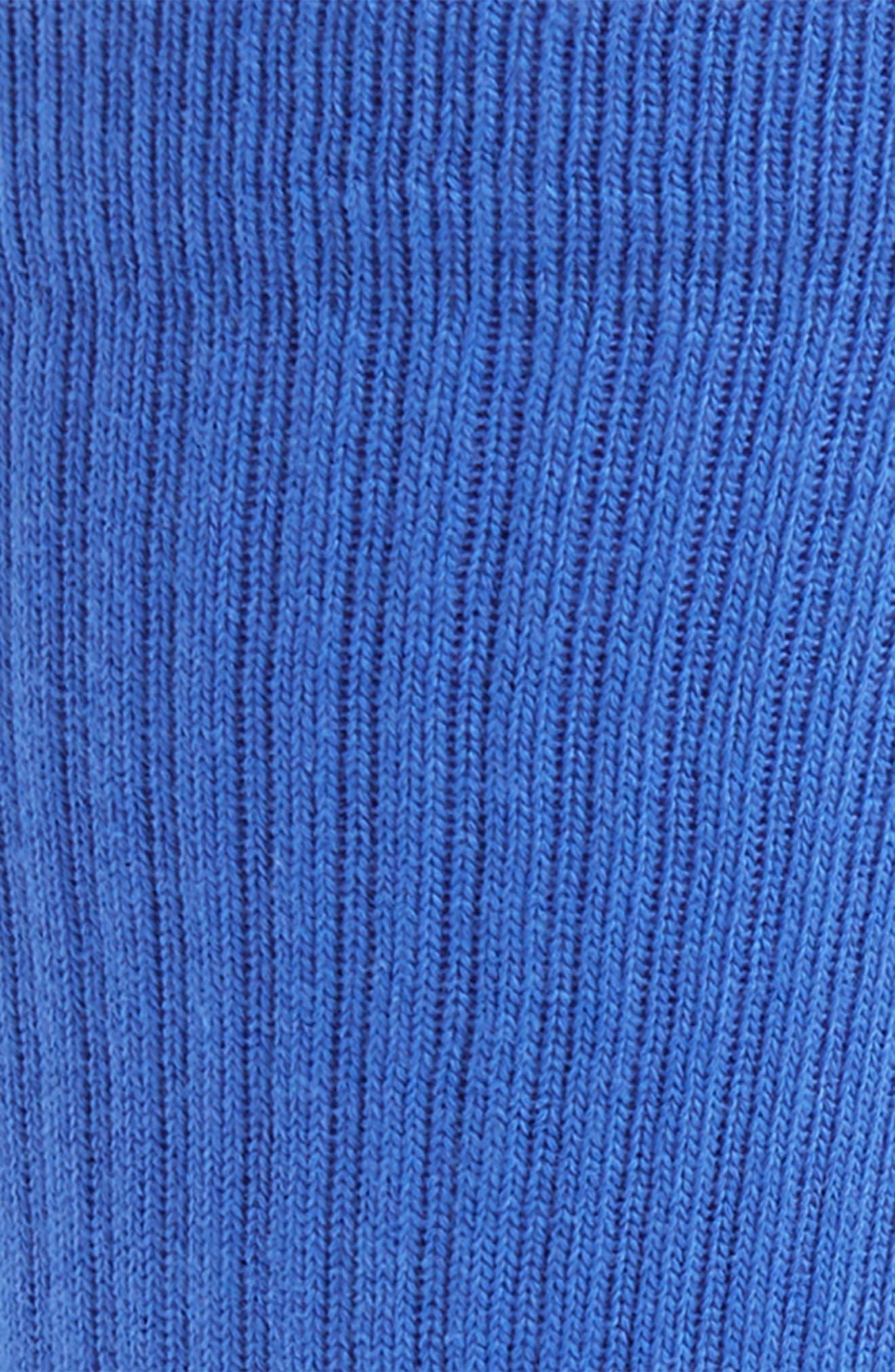 STANCE,                             'Icon' Athletic Socks,                             Alternate thumbnail 2, color,                             ROYAL