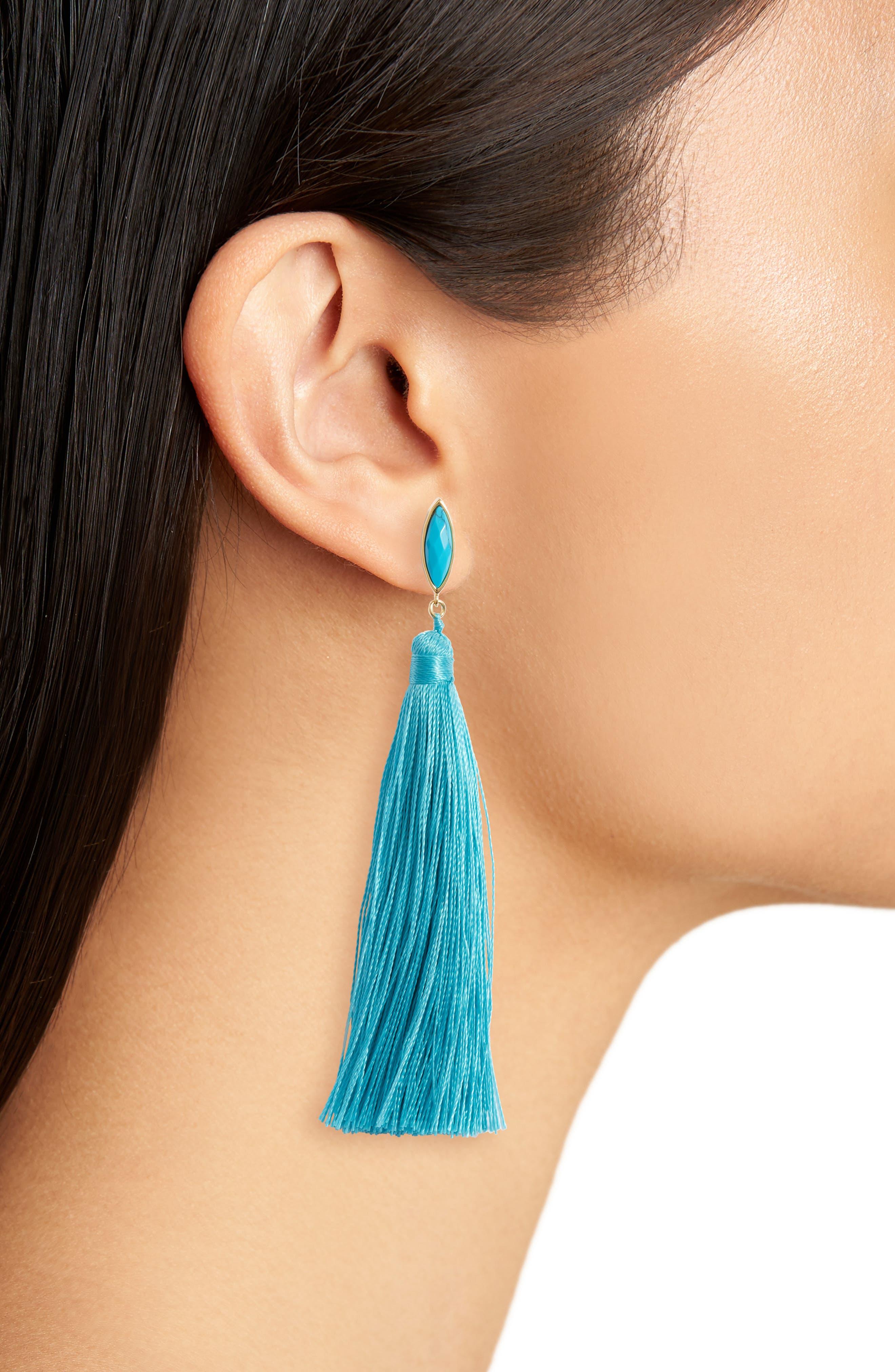 Palisades Tassel Earrings,                             Alternate thumbnail 7, color,
