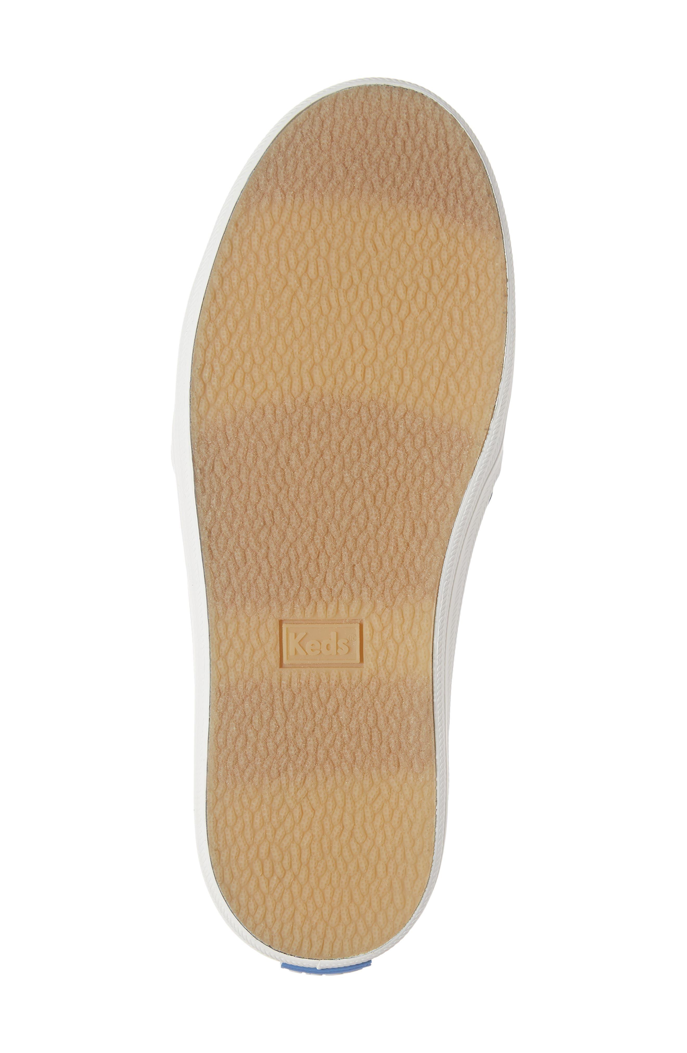 x kate spade new york Double Decker Sneaker,                             Alternate thumbnail 6, color,                             HAYDEN CAT