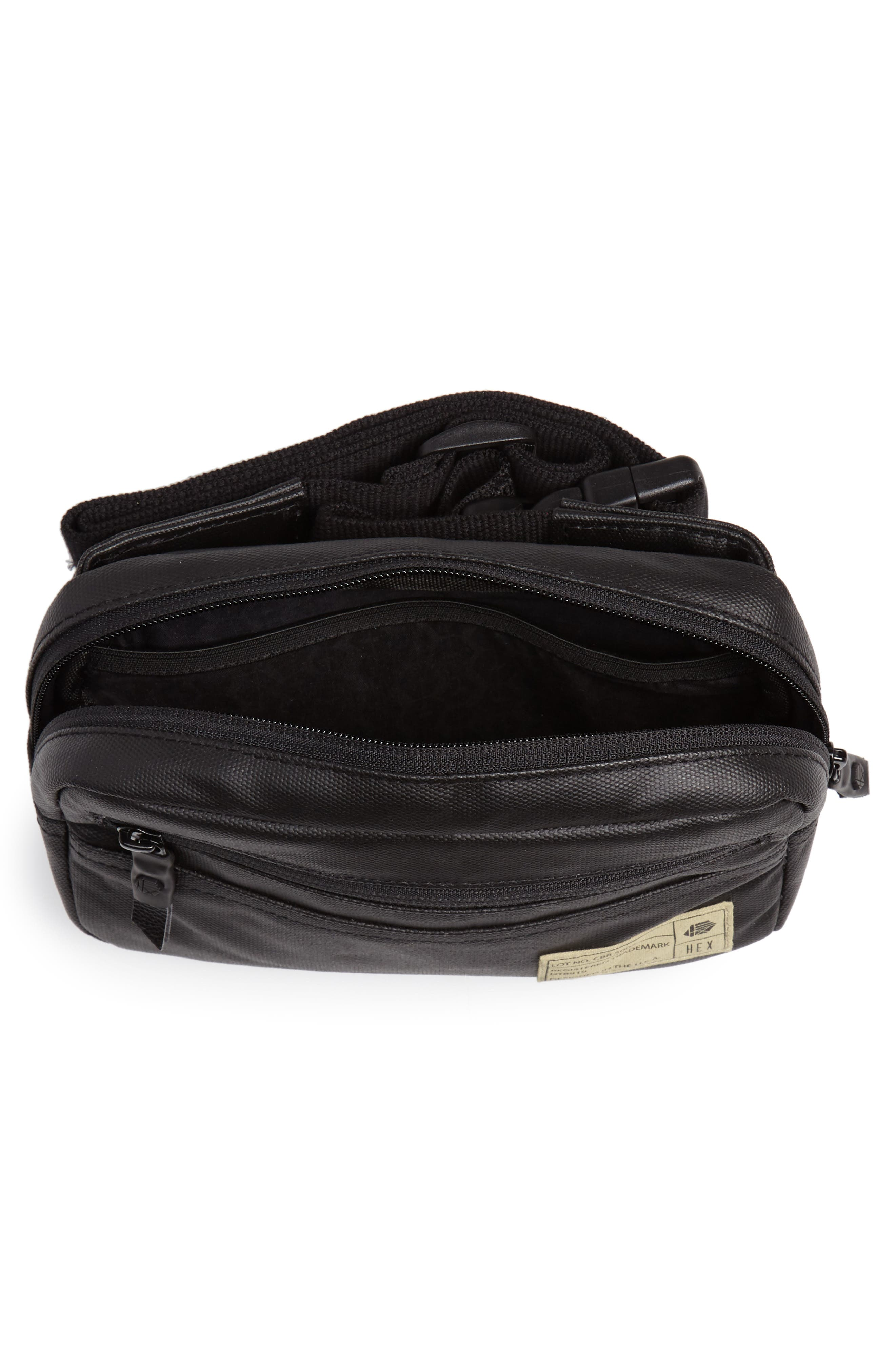 Aspect Collection Water Resistant Waist Pack,                             Alternate thumbnail 5, color,                             001