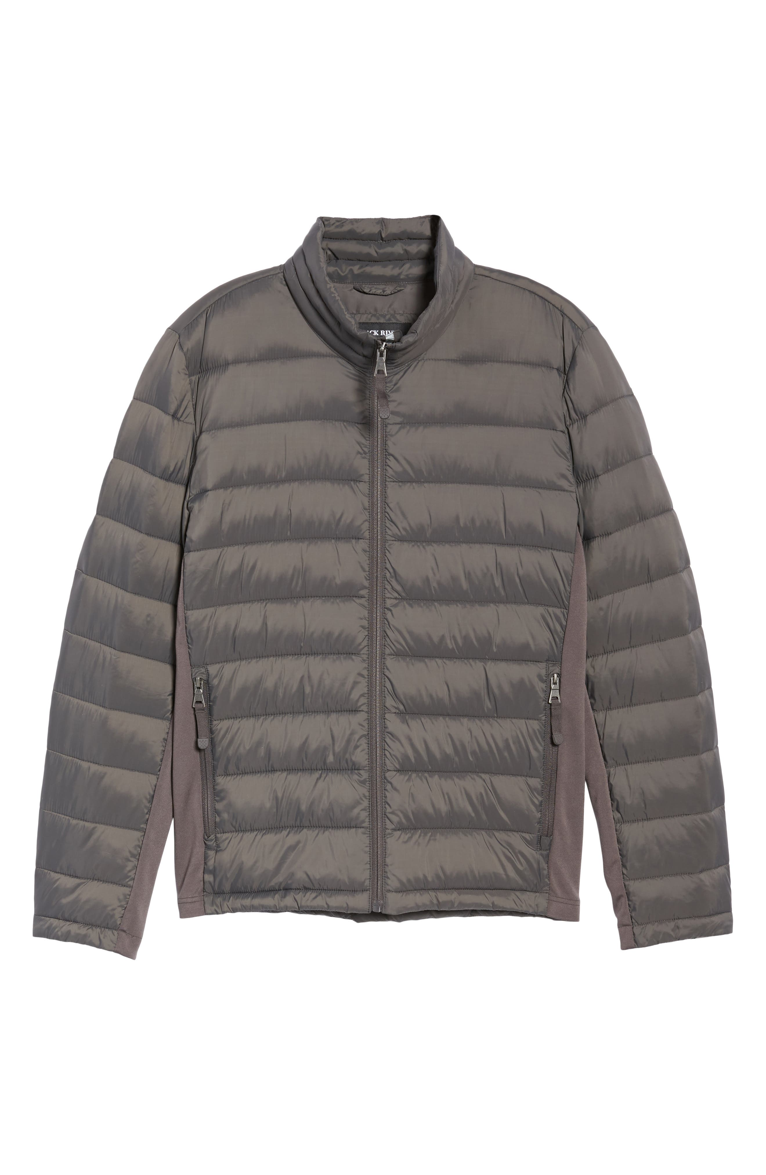 Water Resistant Packable Puffer Jacket,                             Alternate thumbnail 18, color,