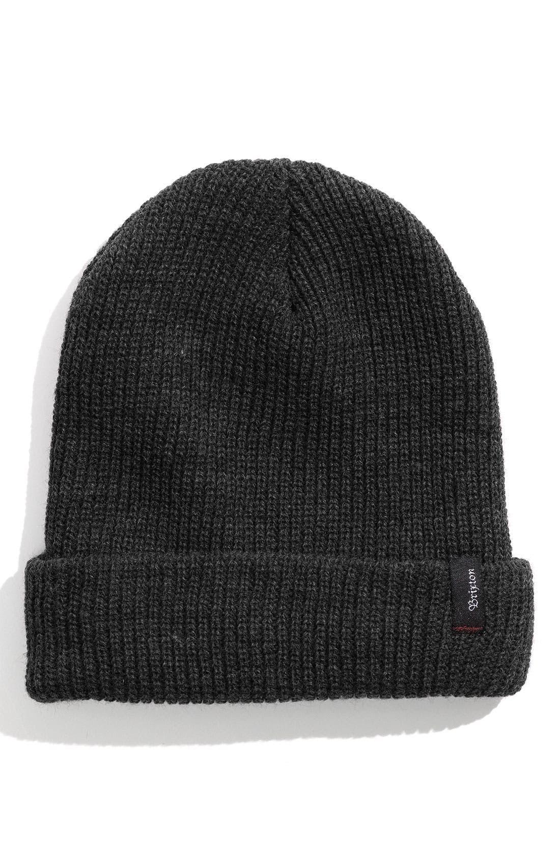 'Heist' Rib Knit Cap,                         Main,                         color,