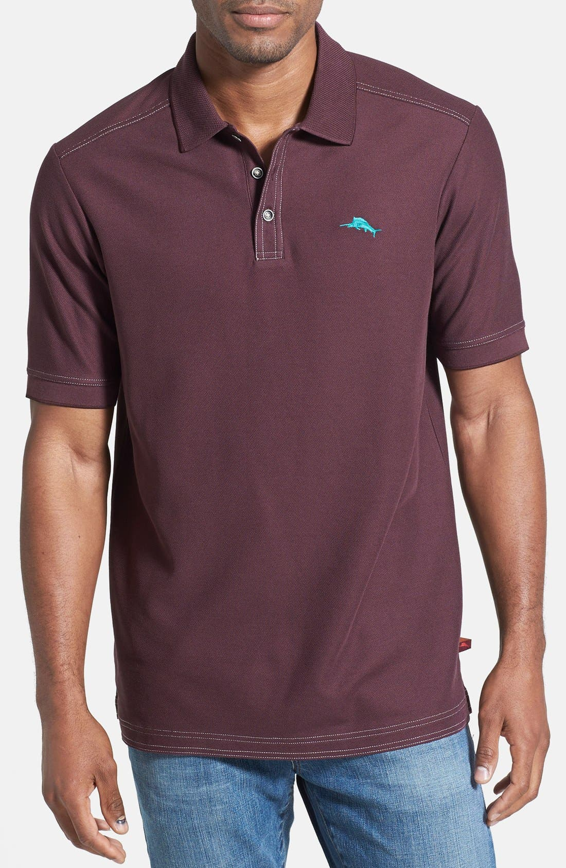 'The Emfielder' Original Fit Piqué Polo,                             Main thumbnail 31, color,