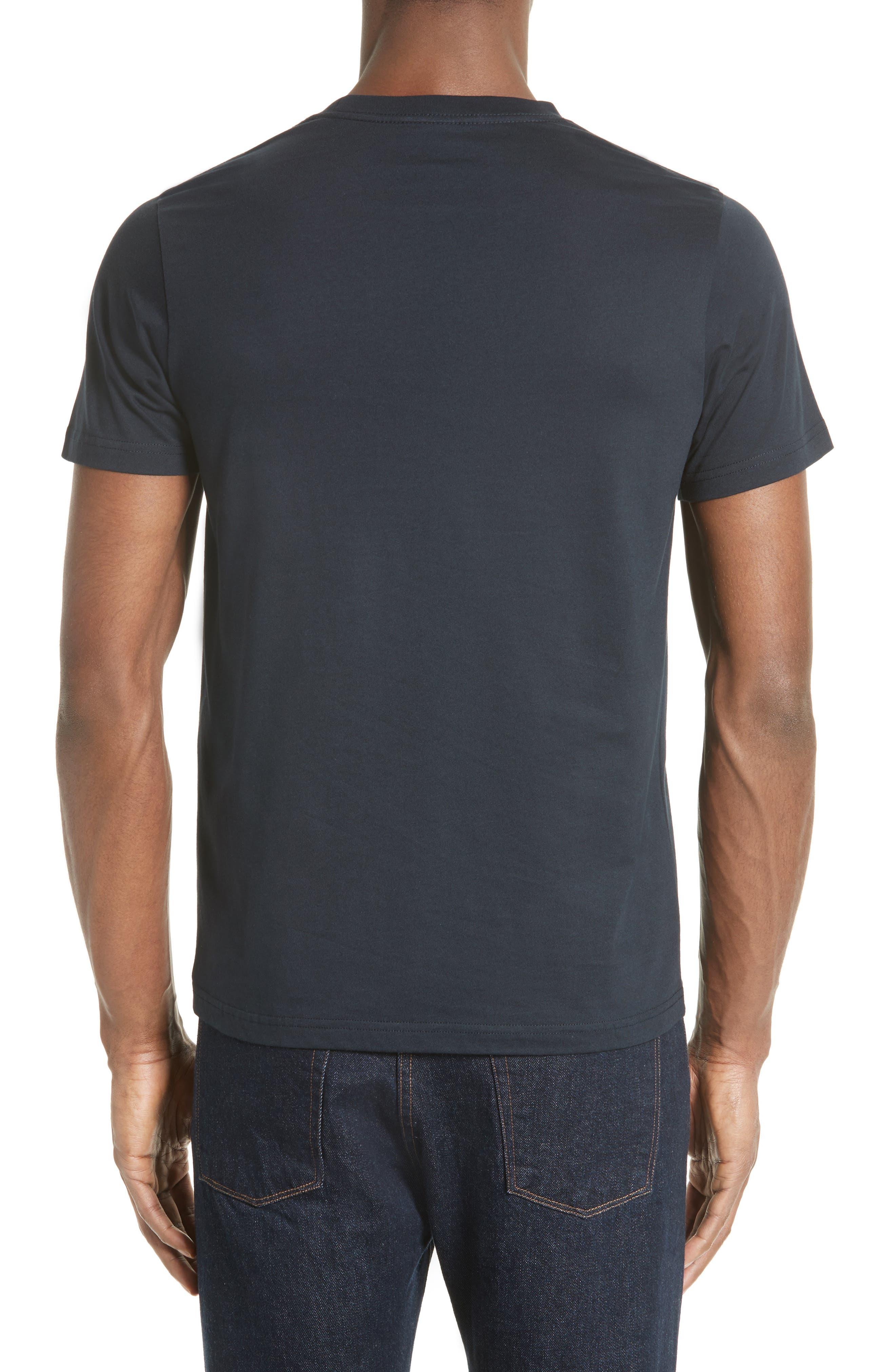 Skull Print T-Shirt,                             Alternate thumbnail 2, color,