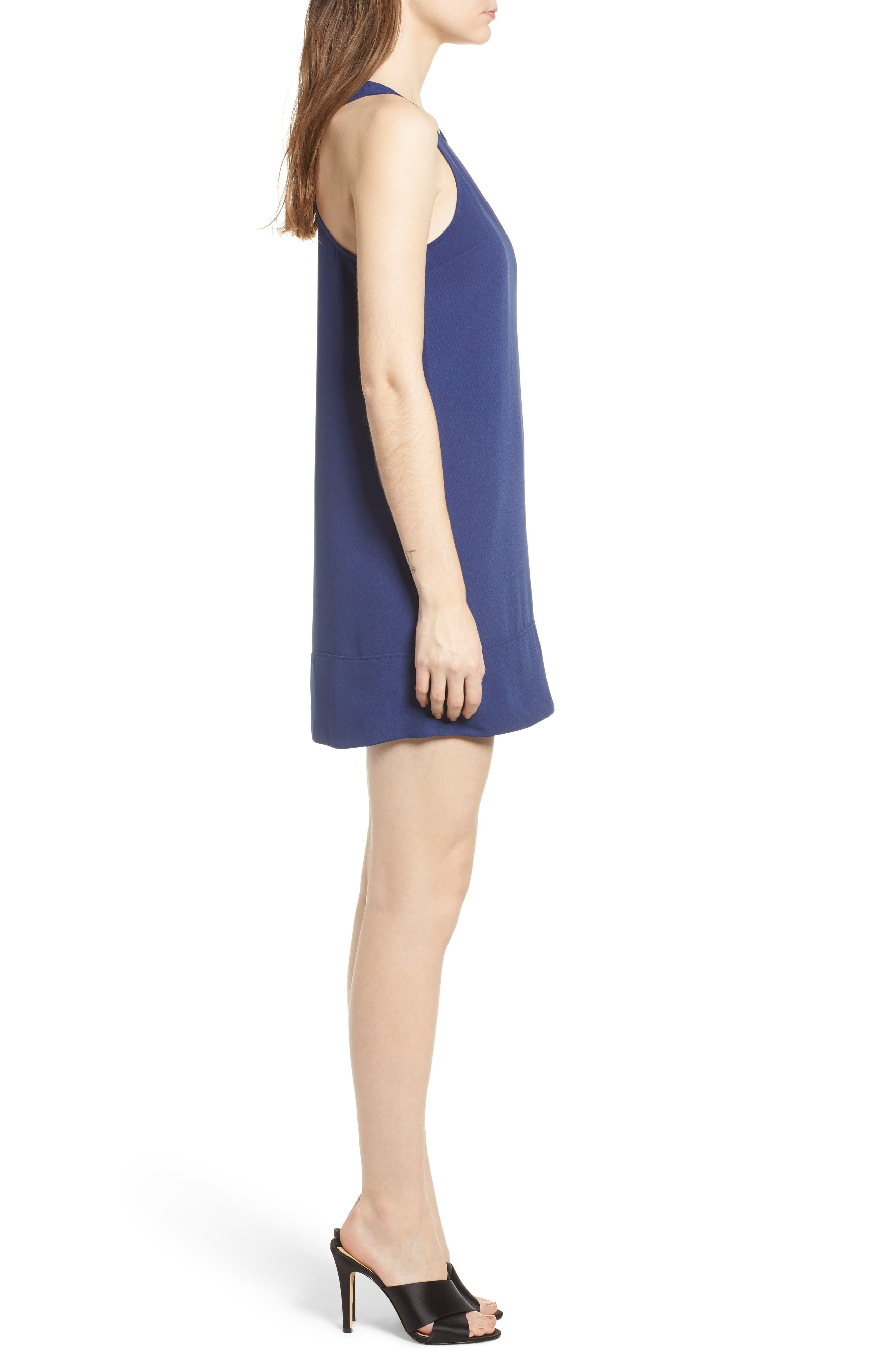 Racerback Shift Dress,                             Alternate thumbnail 127, color,