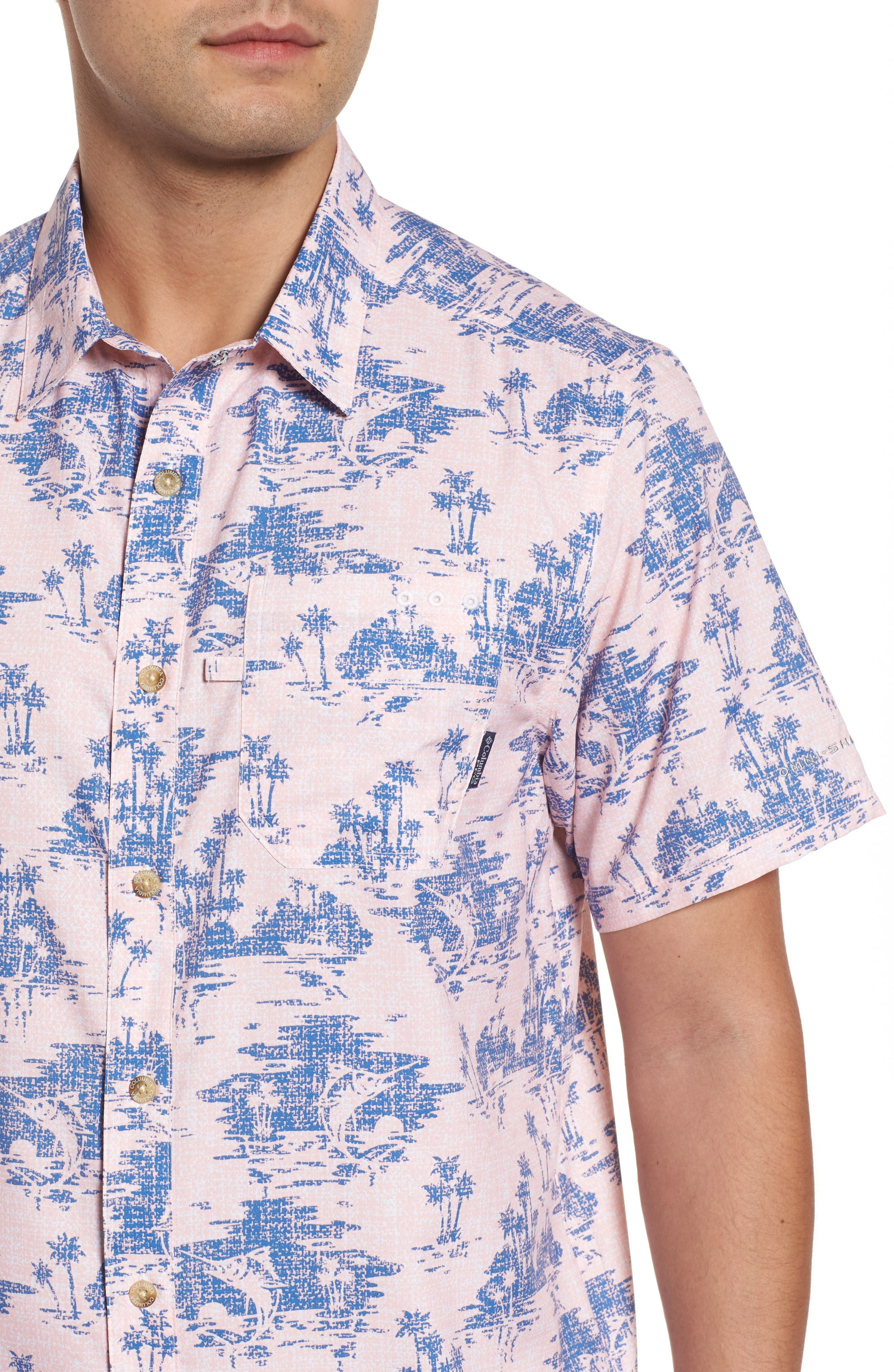 Super Slack Tide Patterned Woven Shirt,                             Alternate thumbnail 20, color,
