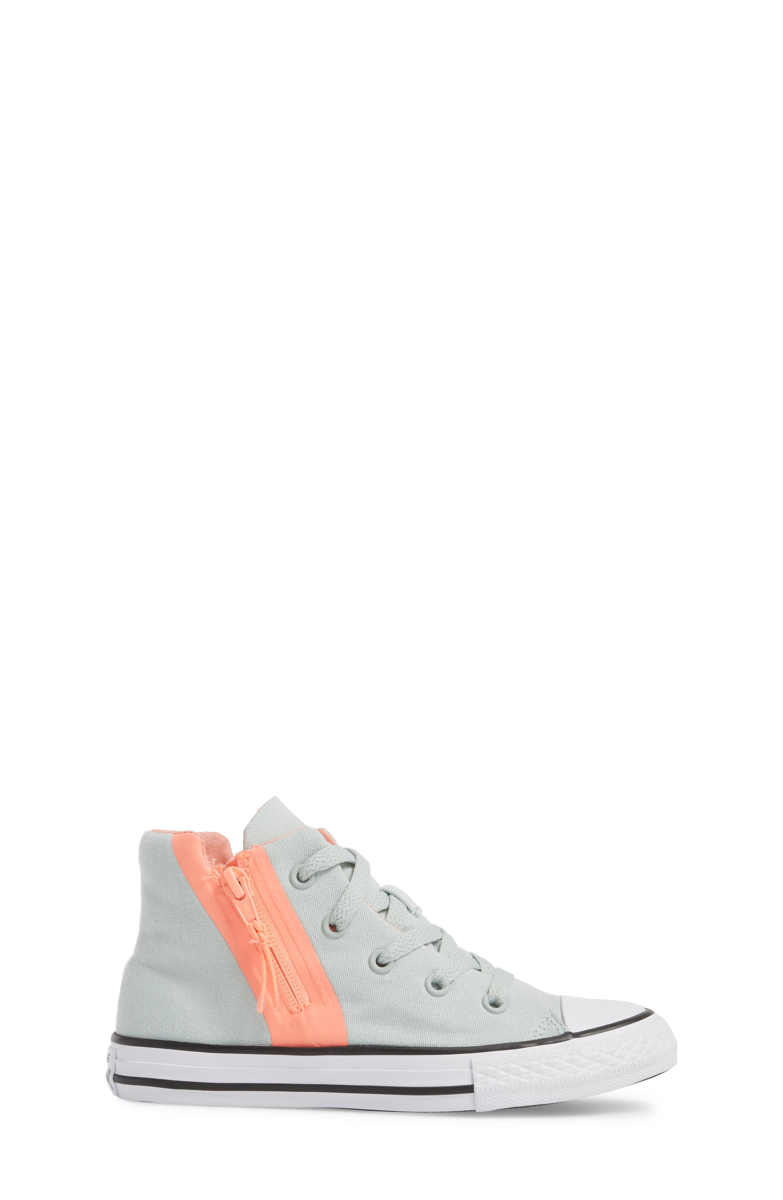 Chuck Taylor<sup>®</sup> All Star<sup>®</sup> Sport Zip High Top Sneaker,                             Alternate thumbnail 3, color,                             416