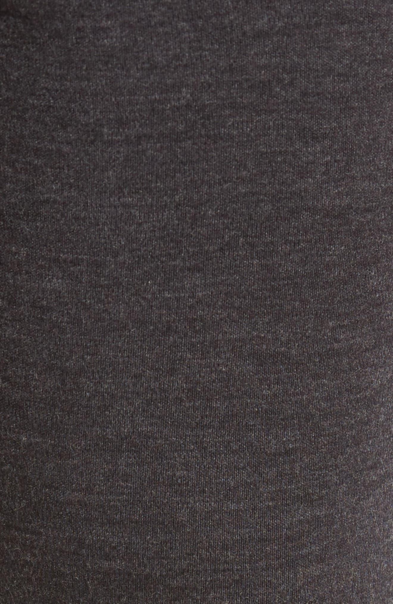 250 Merino Wool Jogger Pants,                             Alternate thumbnail 5, color,                             CHARCOAL