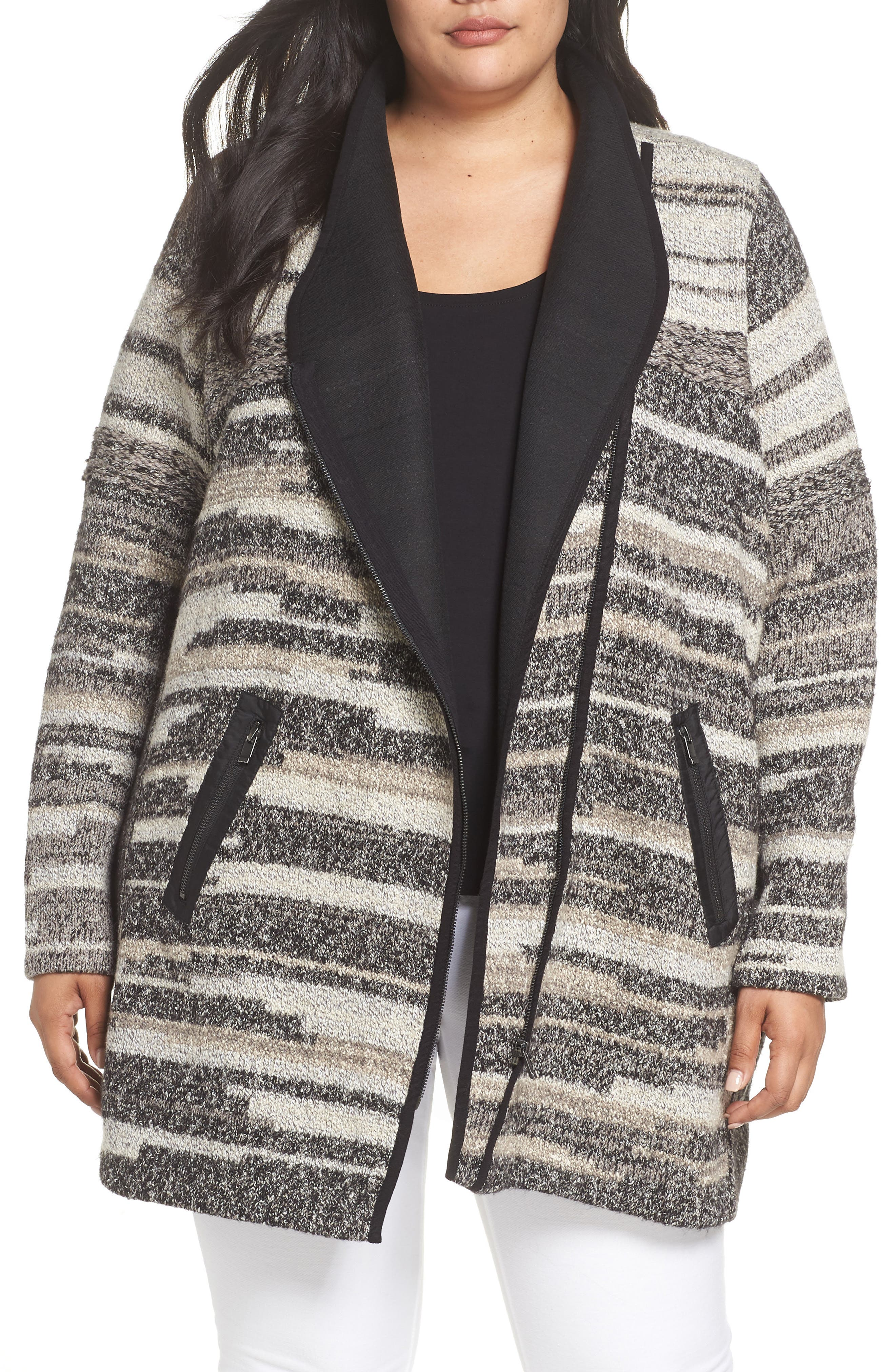 NIC AND ZOE PLUS Nic+Zoe Plus Visionary Jacket - 100% Exclusive in Neutral