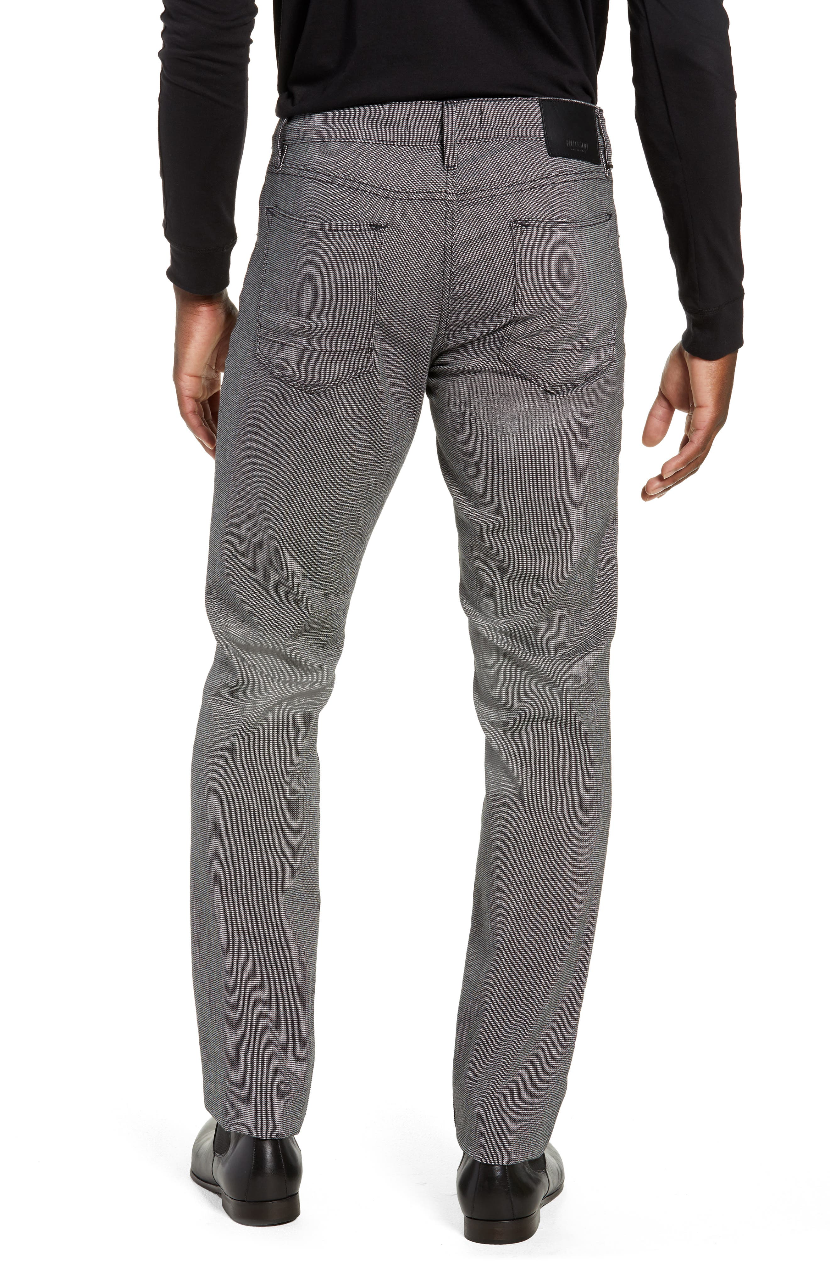 Blake Slim Fit Pants,                             Alternate thumbnail 2, color,                             BLACK WILLOW