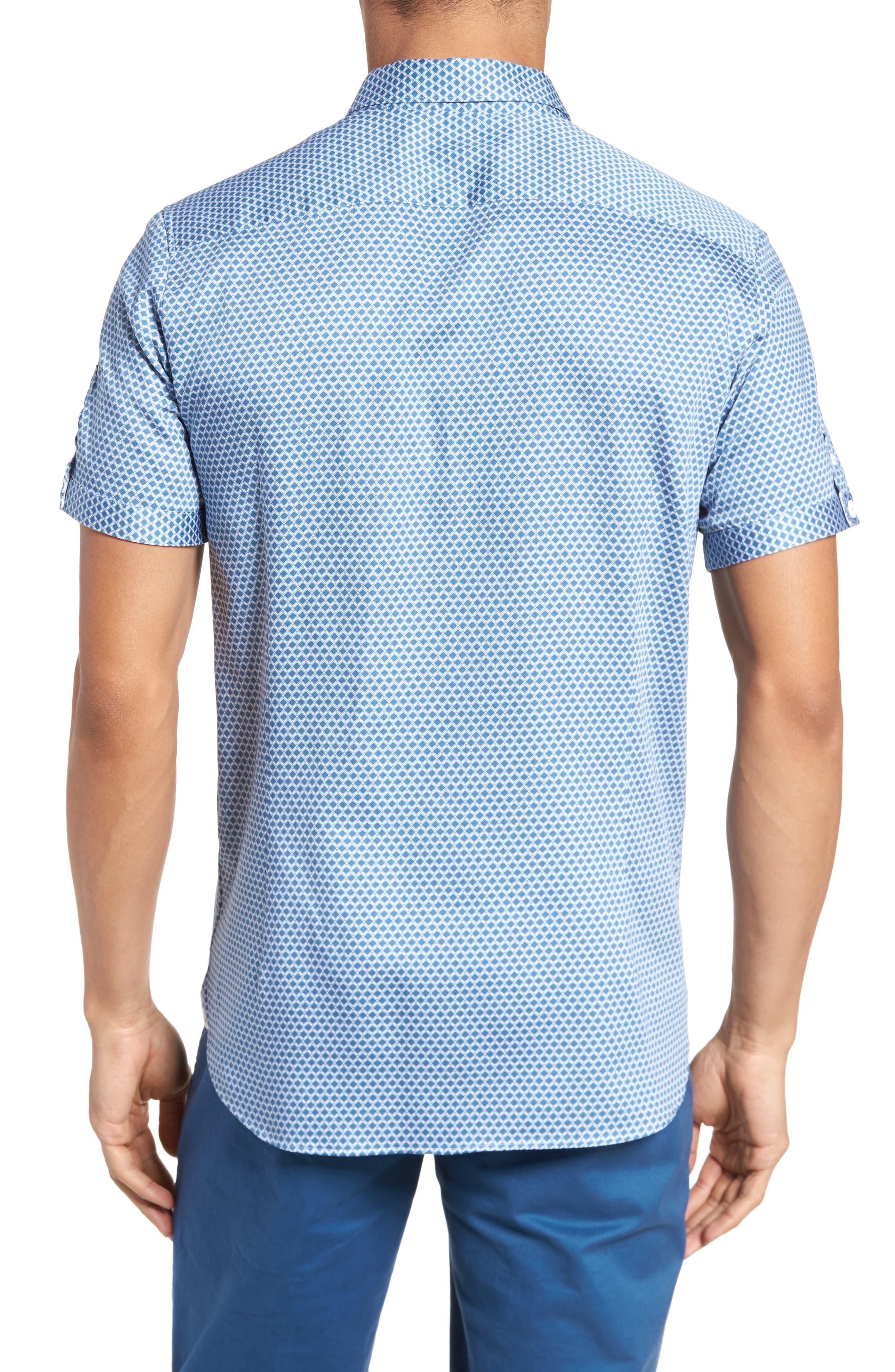 Gudvutt Short Sleeve Sport Shirt,                             Alternate thumbnail 2, color,                             400