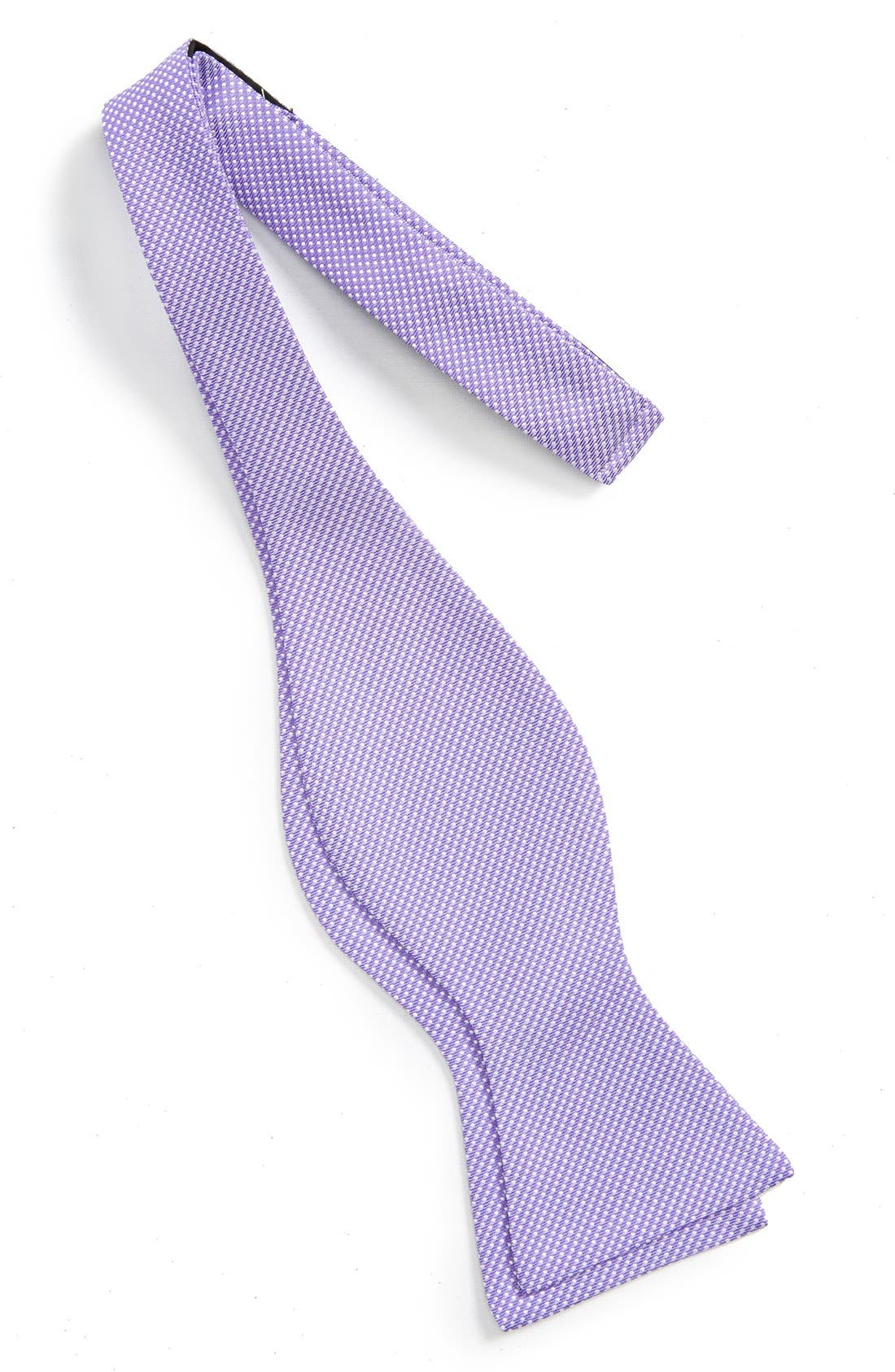 Dot Silk Bow Tie,                             Alternate thumbnail 17, color,