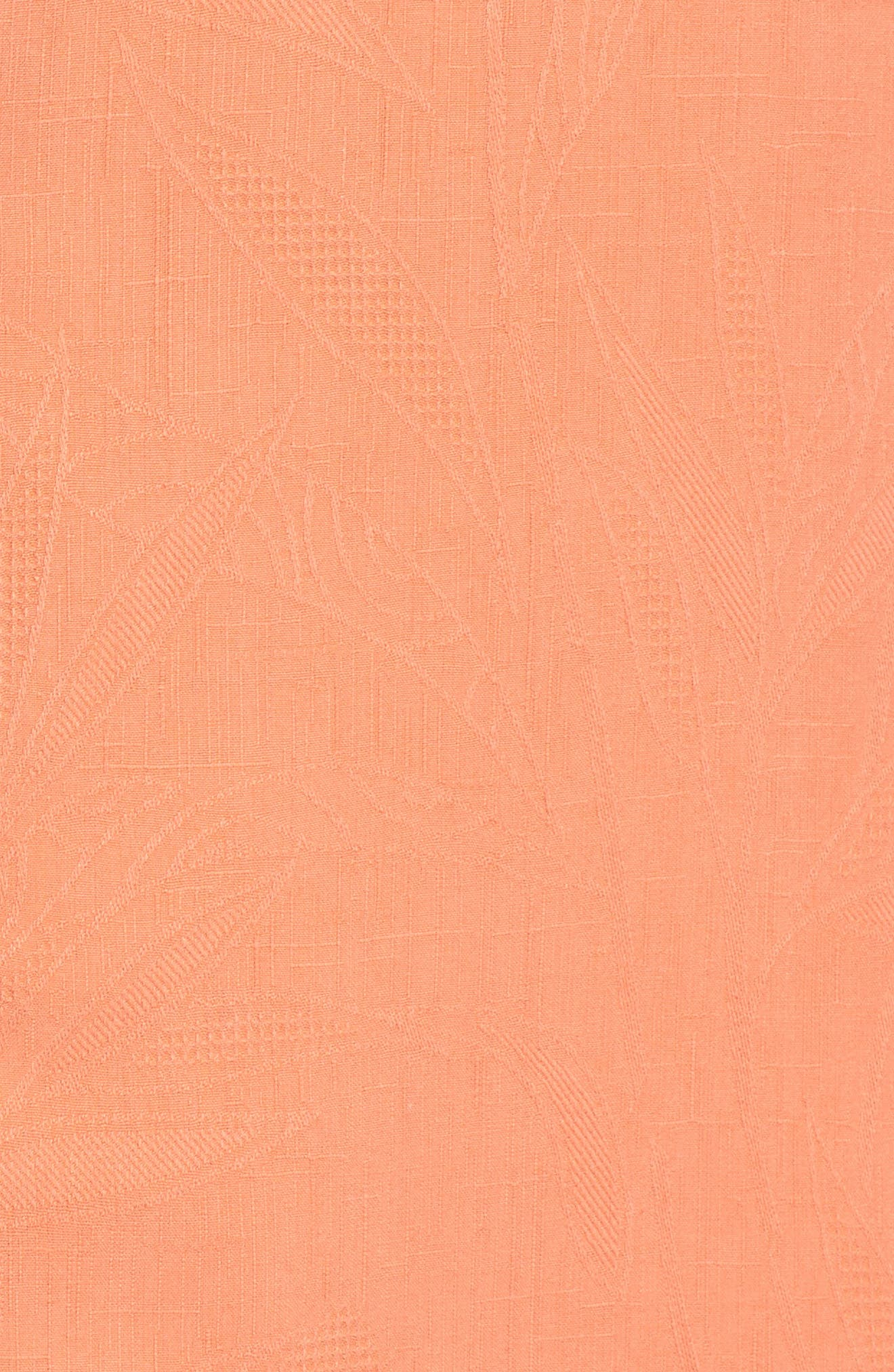 Islander Fronds Silk Camp Shirt,                             Alternate thumbnail 45, color,