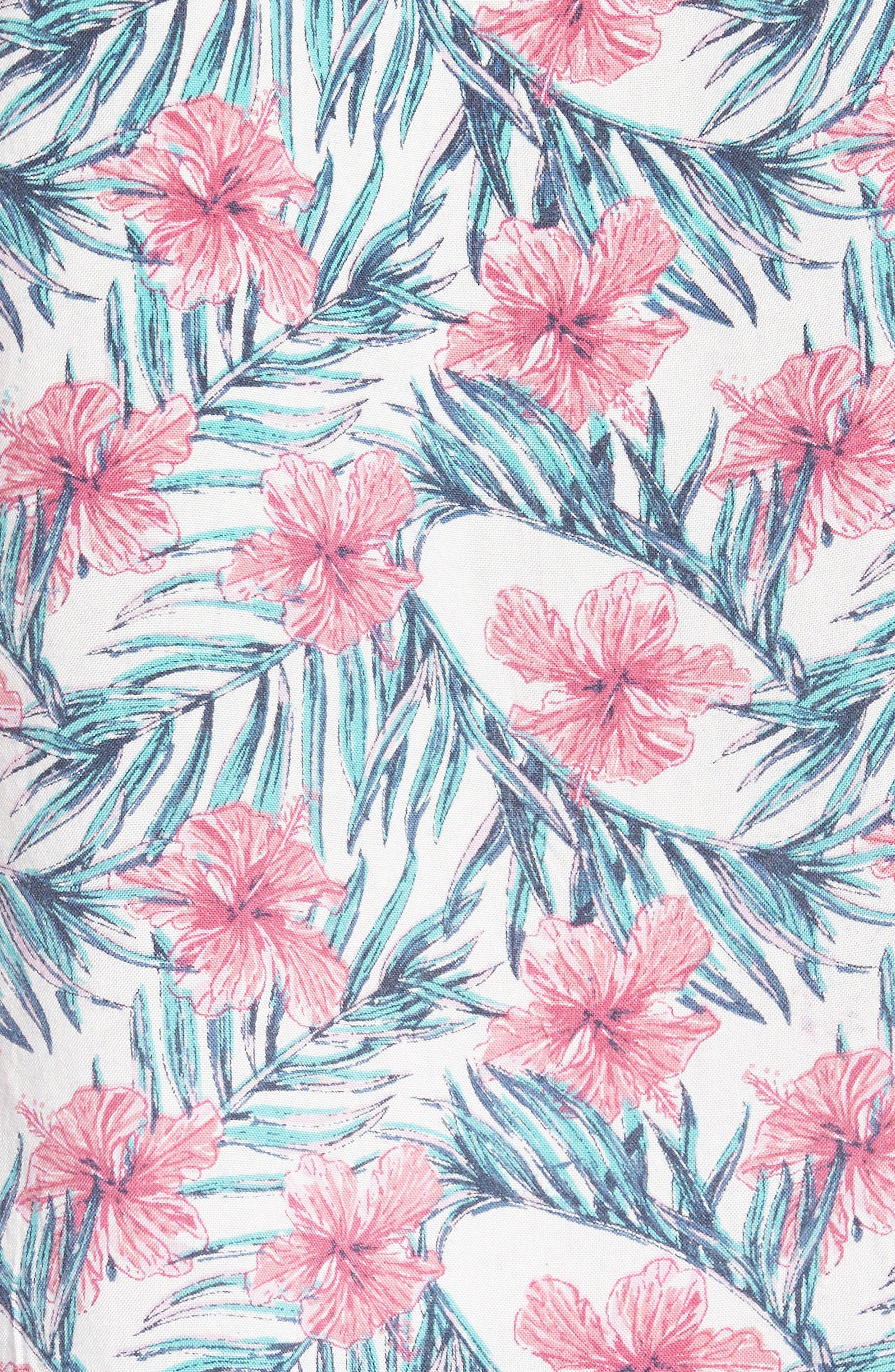 Carolina Woven Shirt,                             Alternate thumbnail 5, color,                             100