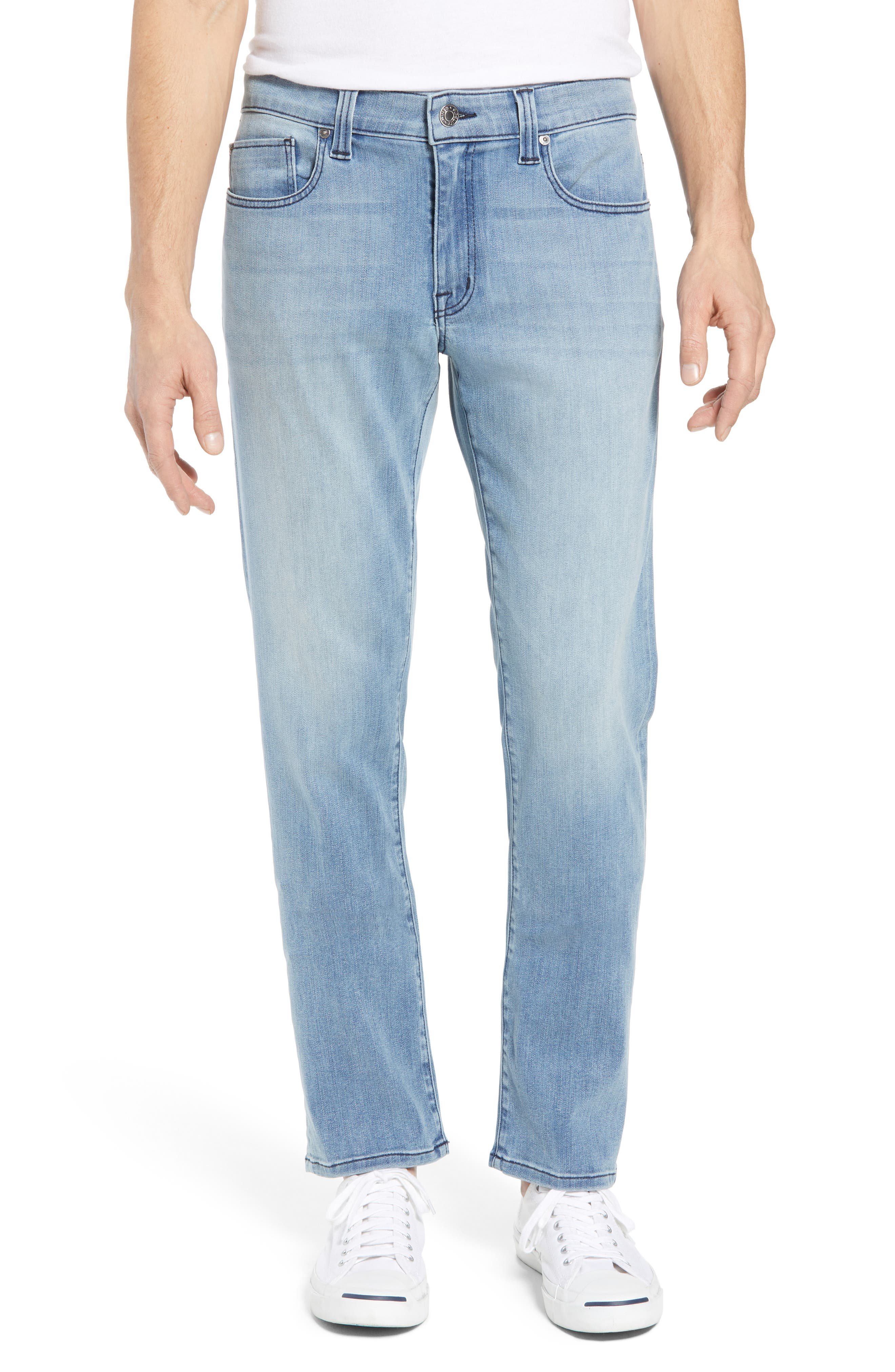 Jimmy Slim Straight Leg Jeans,                             Main thumbnail 1, color,