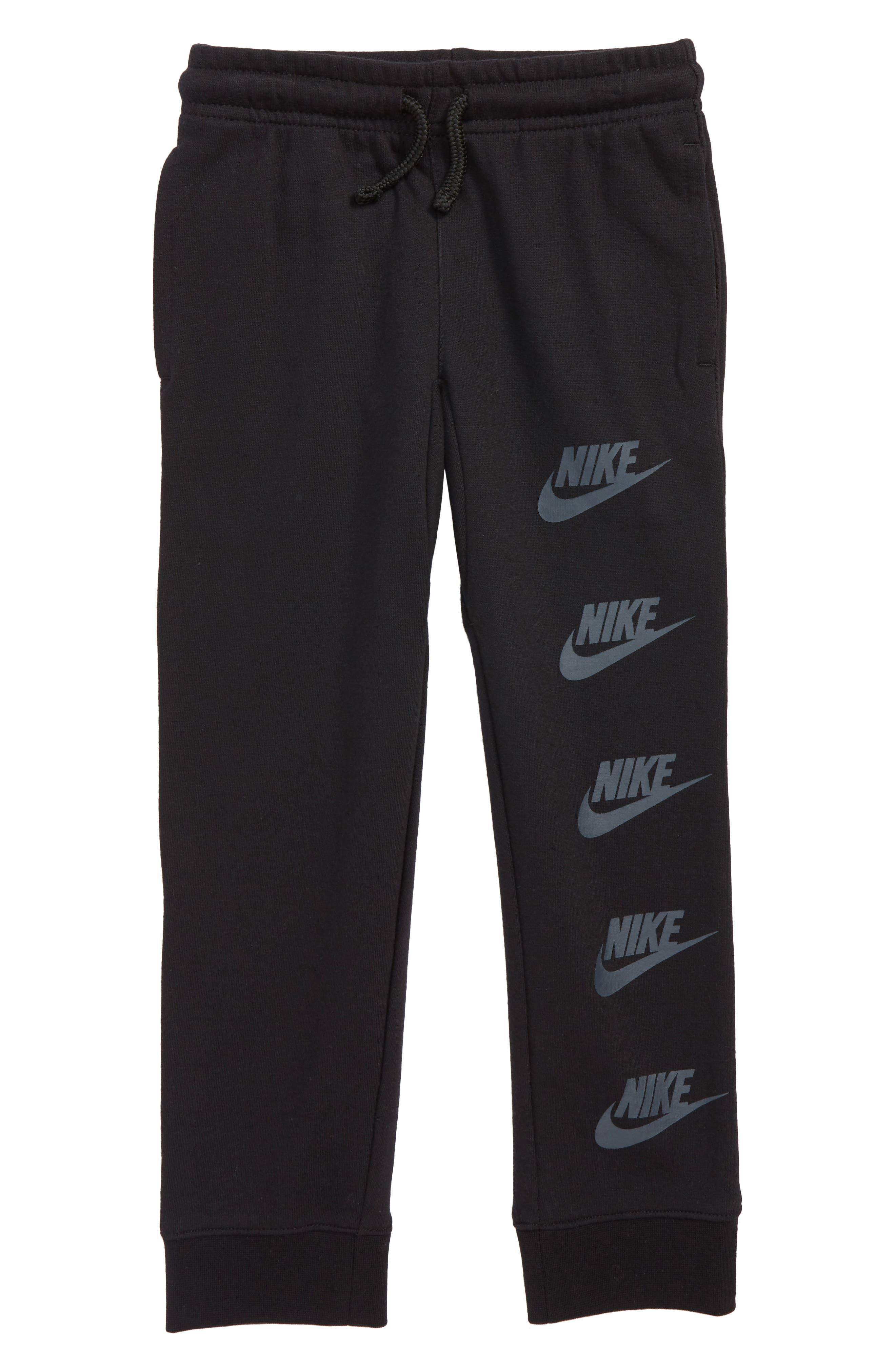 Sportswear Club Archive Fleece Sweatpants,                             Main thumbnail 1, color,                             BLACK
